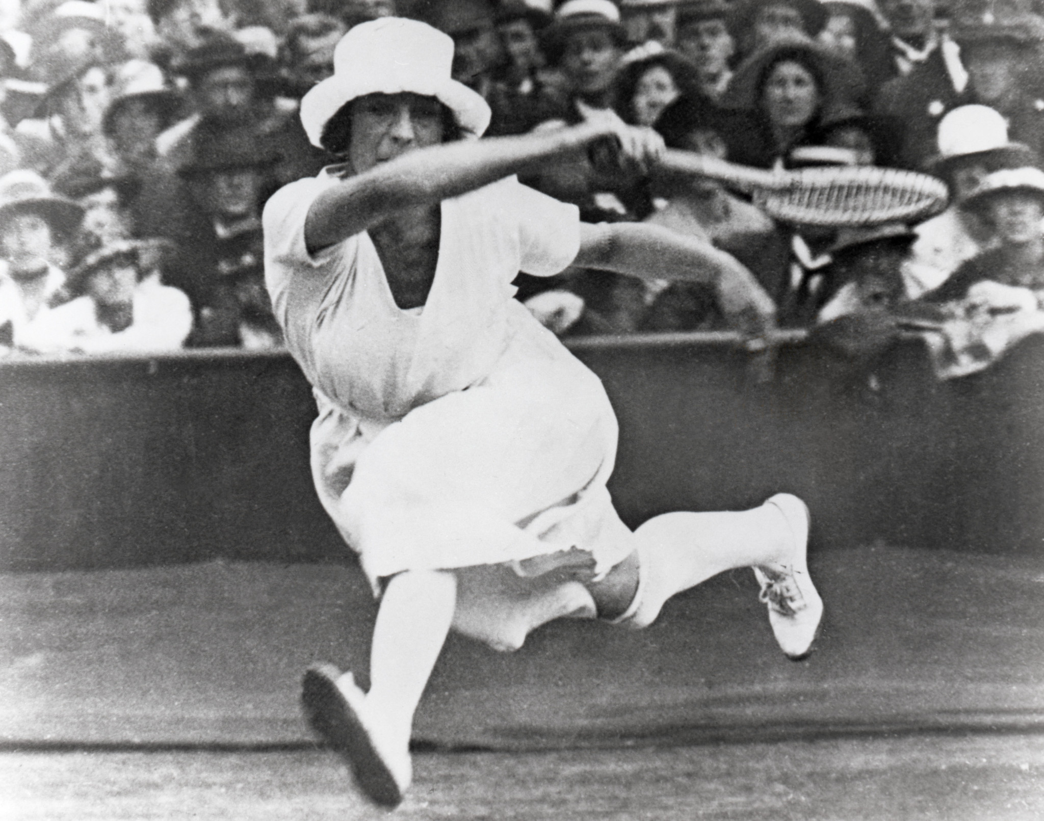 French tennis great Suzanne Lenglen won singles and mixed doubles gold in Antwerp ©Getty Images