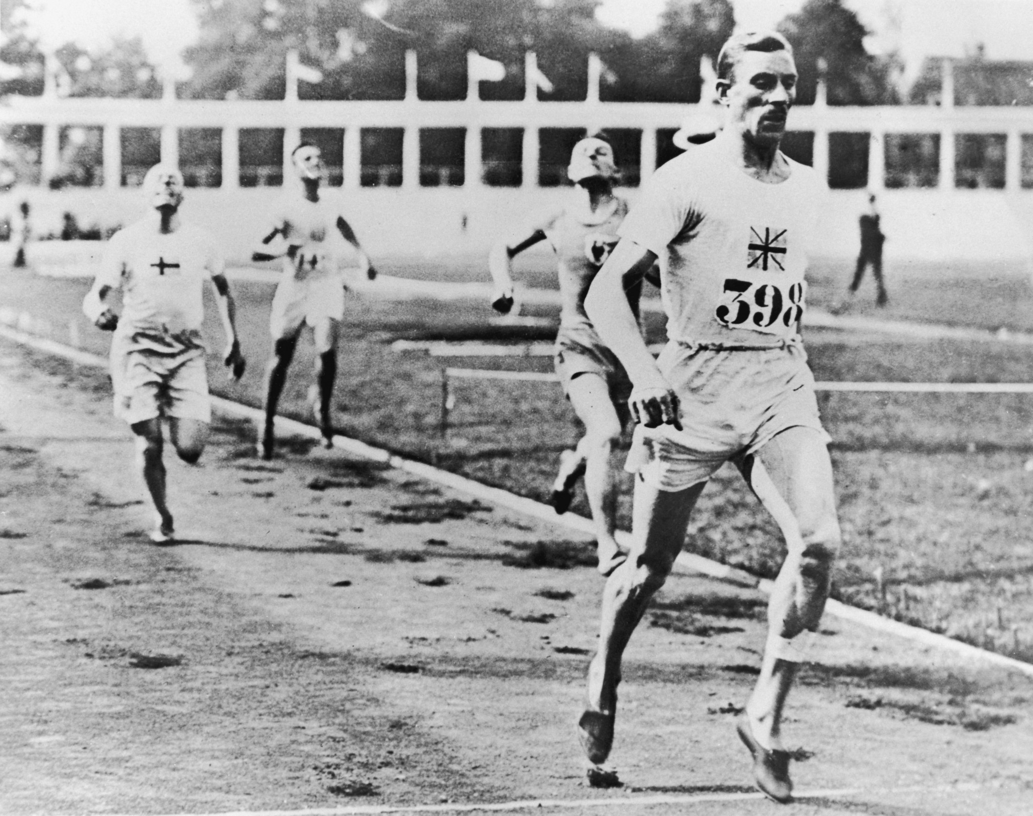 Britain's Albert Hill won the 800 and 1,500 metres at the 1920 Antwerp Olympics ©Getty Images