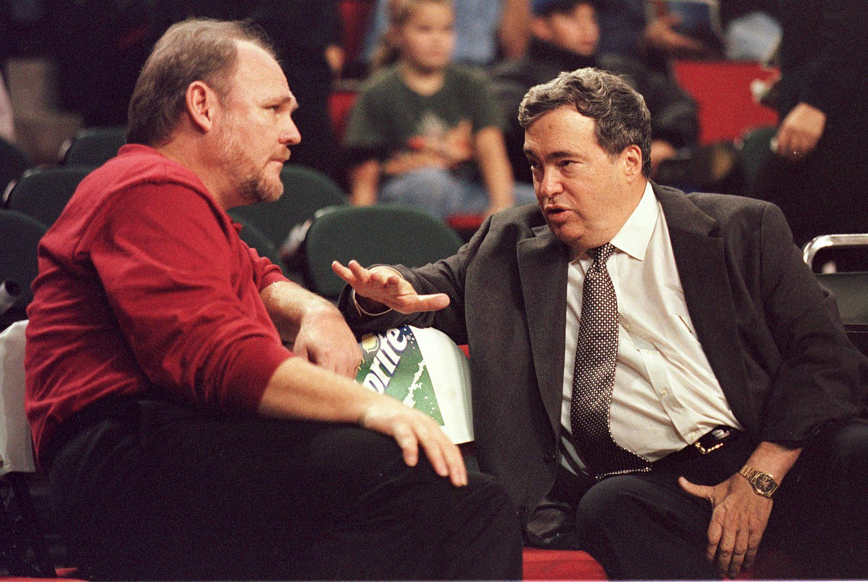 Jerry Krause attempted to rebuild the Chicago Bulls after the 1997 to 1998 NBA season ©Getty Images