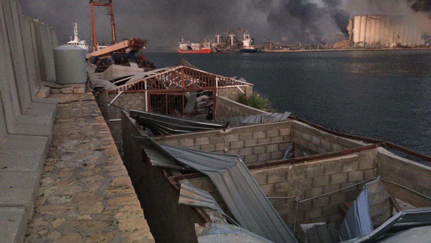 Lebanese National Rowing Centre suffers extensive damage in Beirut blast