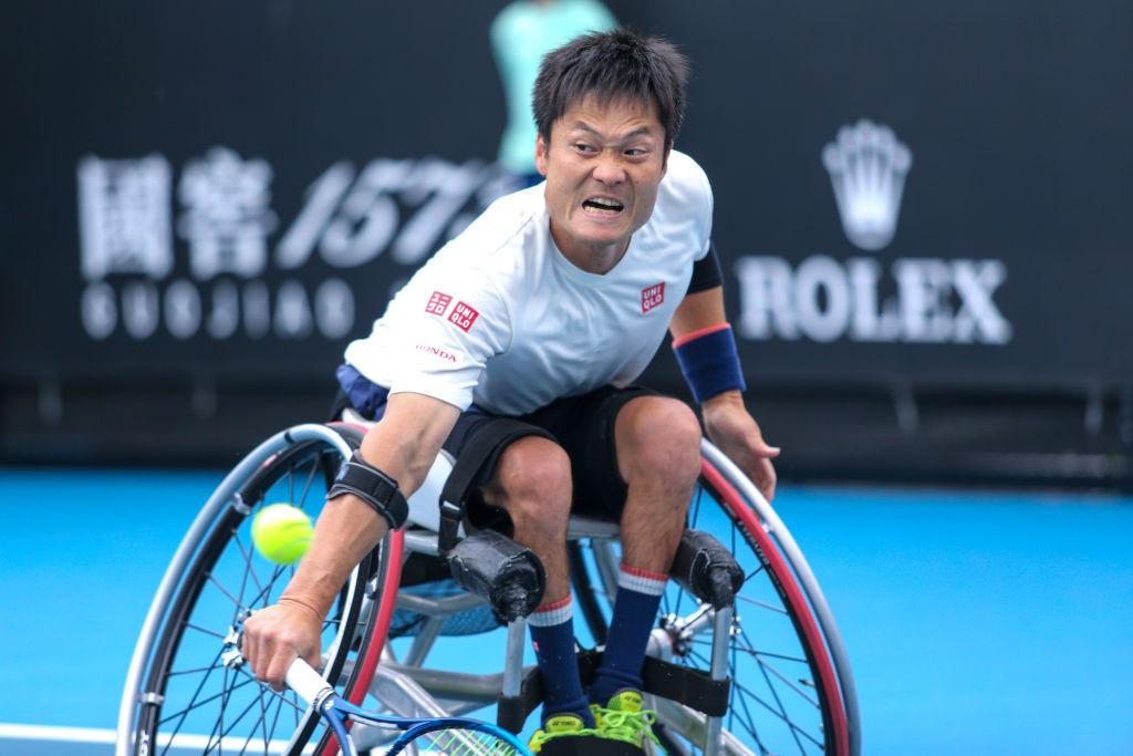 Men's world number one Shingo Kunieda is among the top players to have entered the US Open wheelchair tournament ©Getty Images