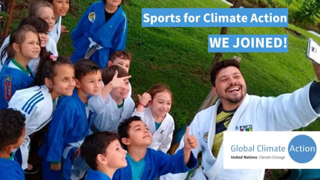 International Judo Federation joins Sports for Climate Action Initiative