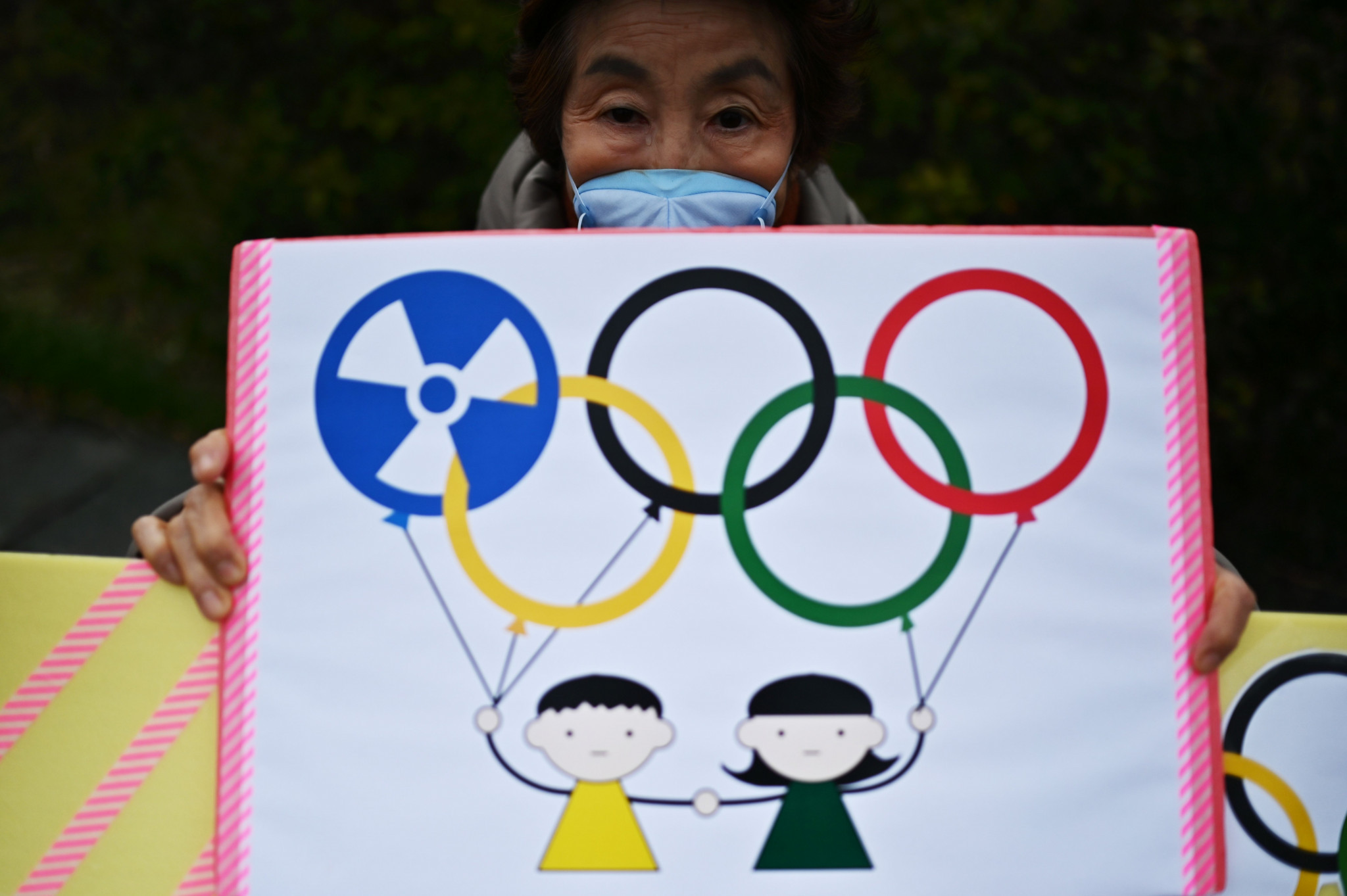 Some of the protests have been around the hosting of the Games instead of helping victims from Fukushima ©Getty Images