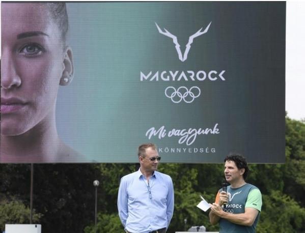 Hungarian Olympic Committee launch new athlete and fan brand