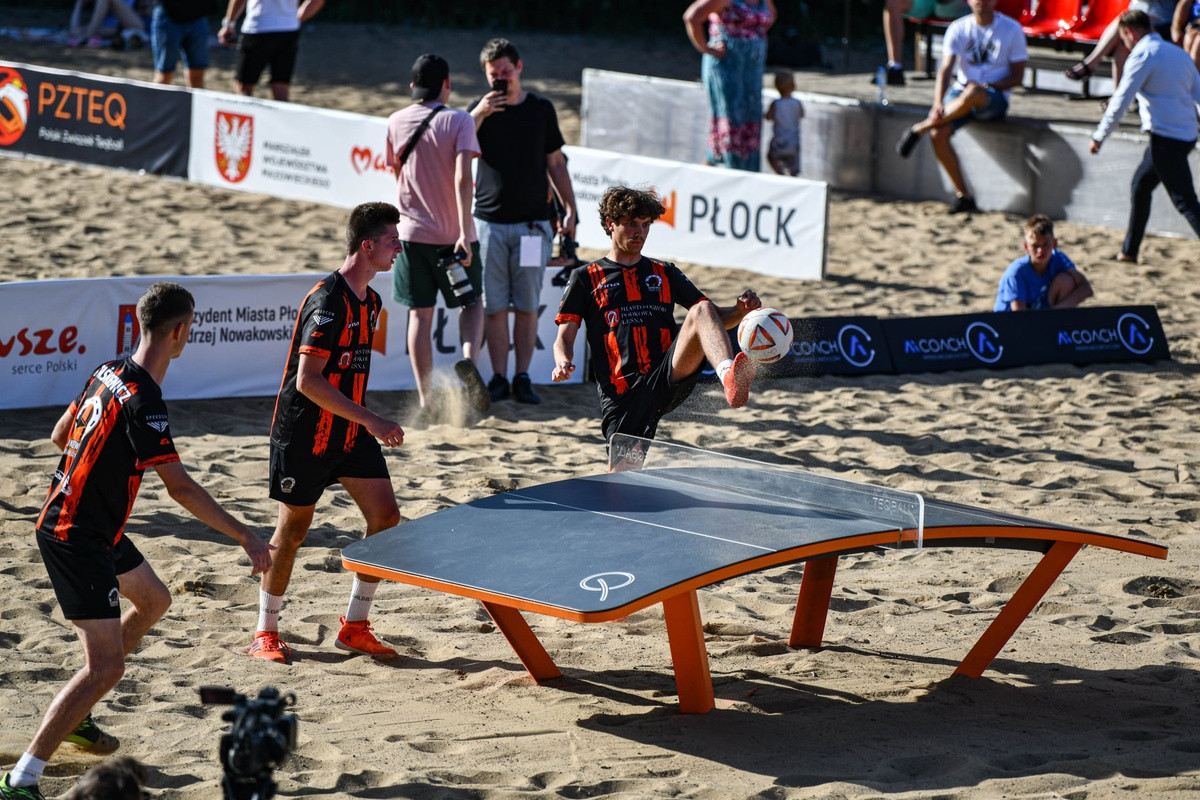 Inaugural Polish Beach Teqball Championships held in Płock