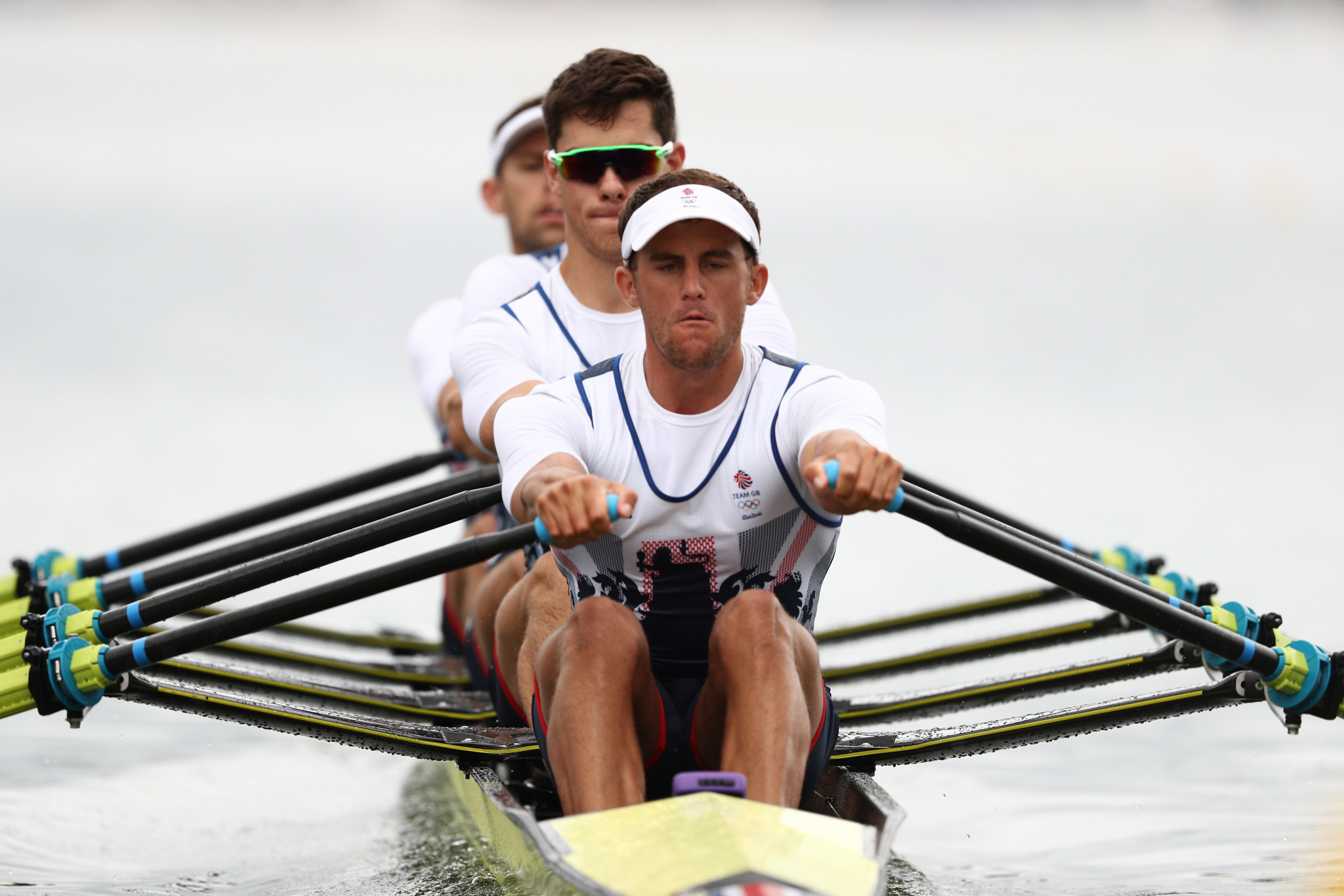 Pete Lambert competed at the Rio 2016 Olympic Games in the quadruple sculls event ©Getty Images