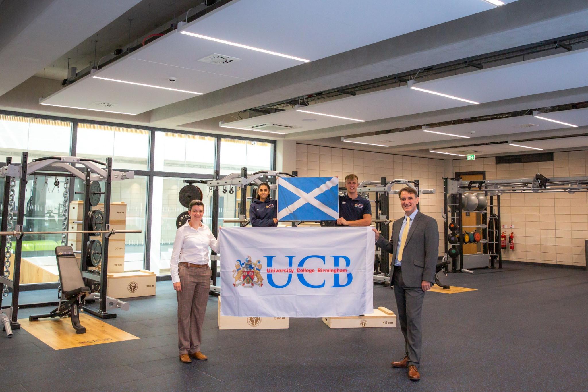 University College Birmingham to host Scotland at 2022 Commonwealth Games