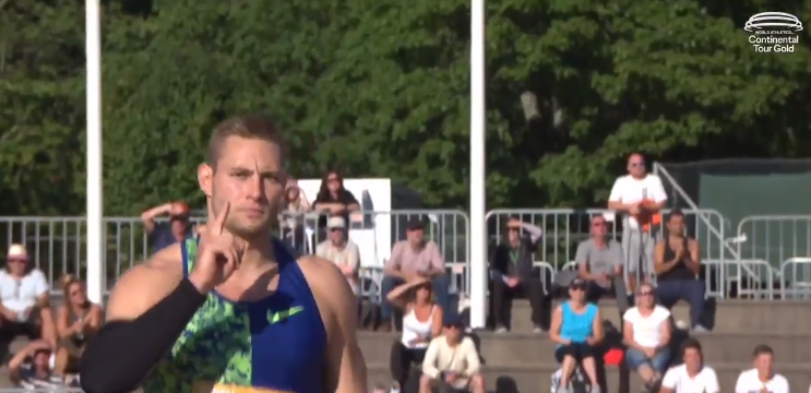 Vetter throws 2020 javelin world best at first gold meeting on World Athletics Continental Tour