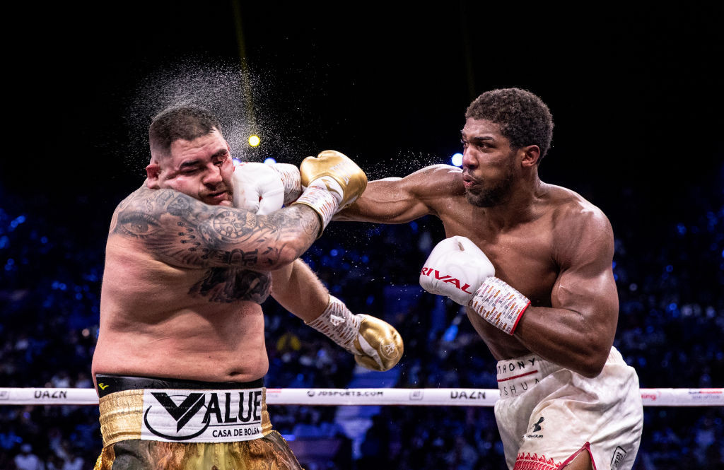 """A fight between Anthony Joshua and Tyson Fury would """"open the door"""" to better relations between Queensberry Promotions and Matchroom, according to Eddie Hearn ©Getty Images"""