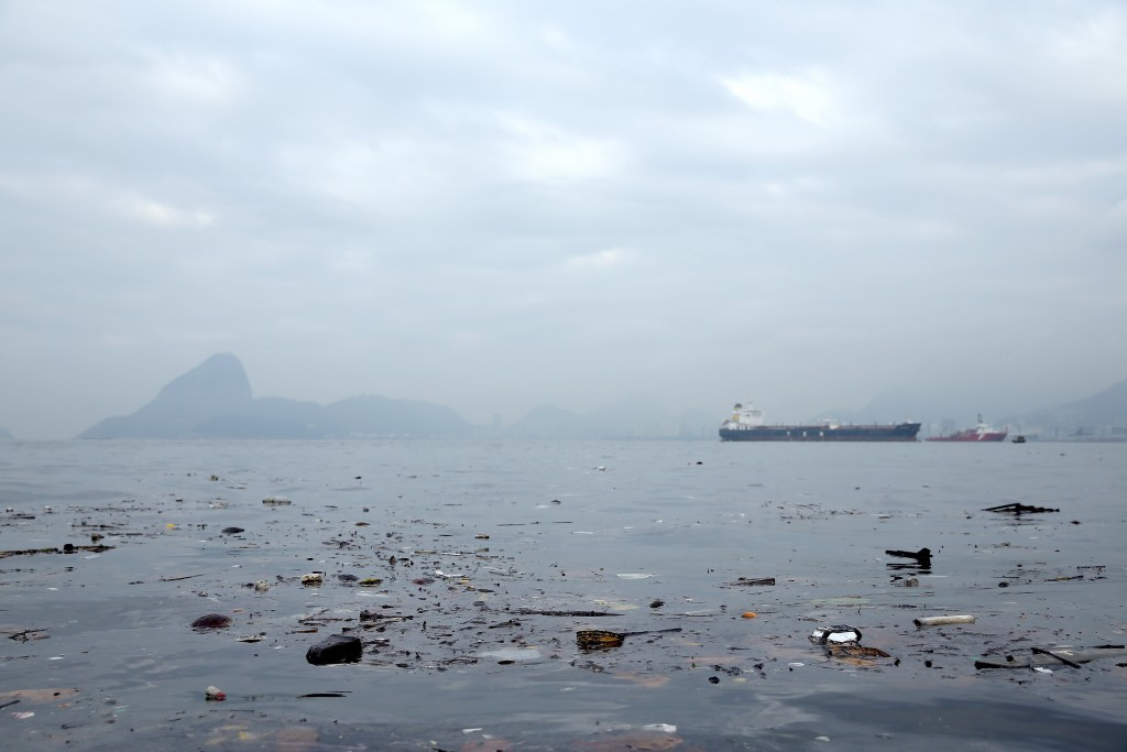 A human arm has reportedly been found floating in the water of Guanabara Bay ©Getty Images