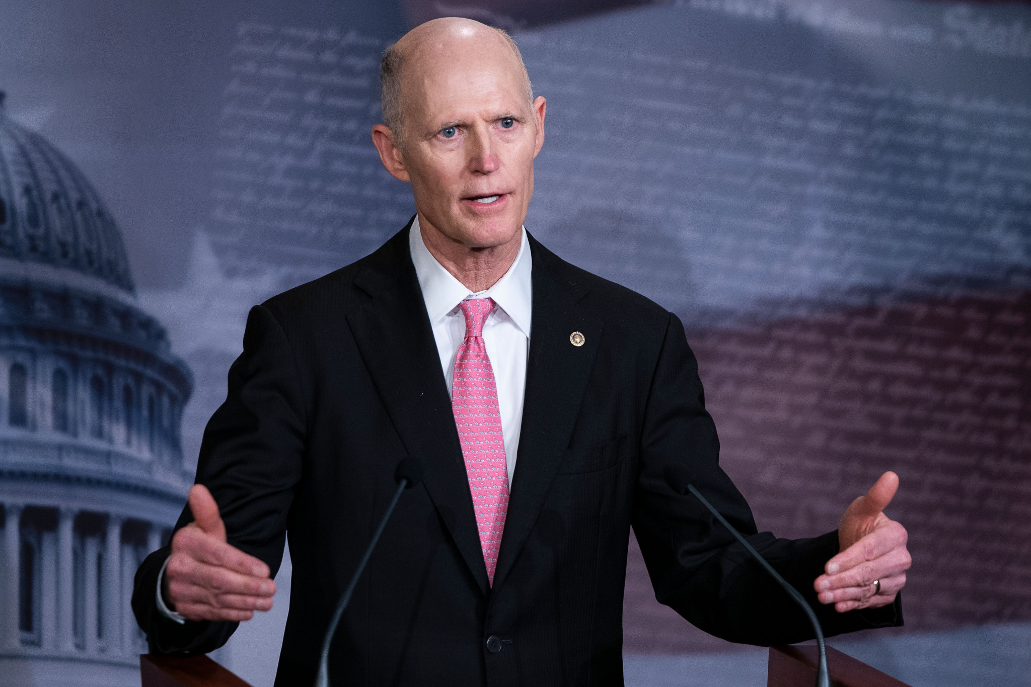 Florida Senator Rick Scott has requested a meeting with IOC President Thomas Bach to discuss Beijing 2022 ©Getty Images