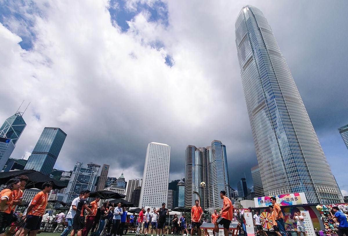 Teqball fan base growing in Hong Kong despite pandemic