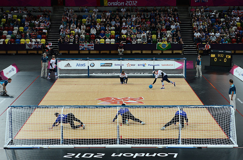 A group of British athletes have called for change in the way goalball players are classified ©Getty Images
