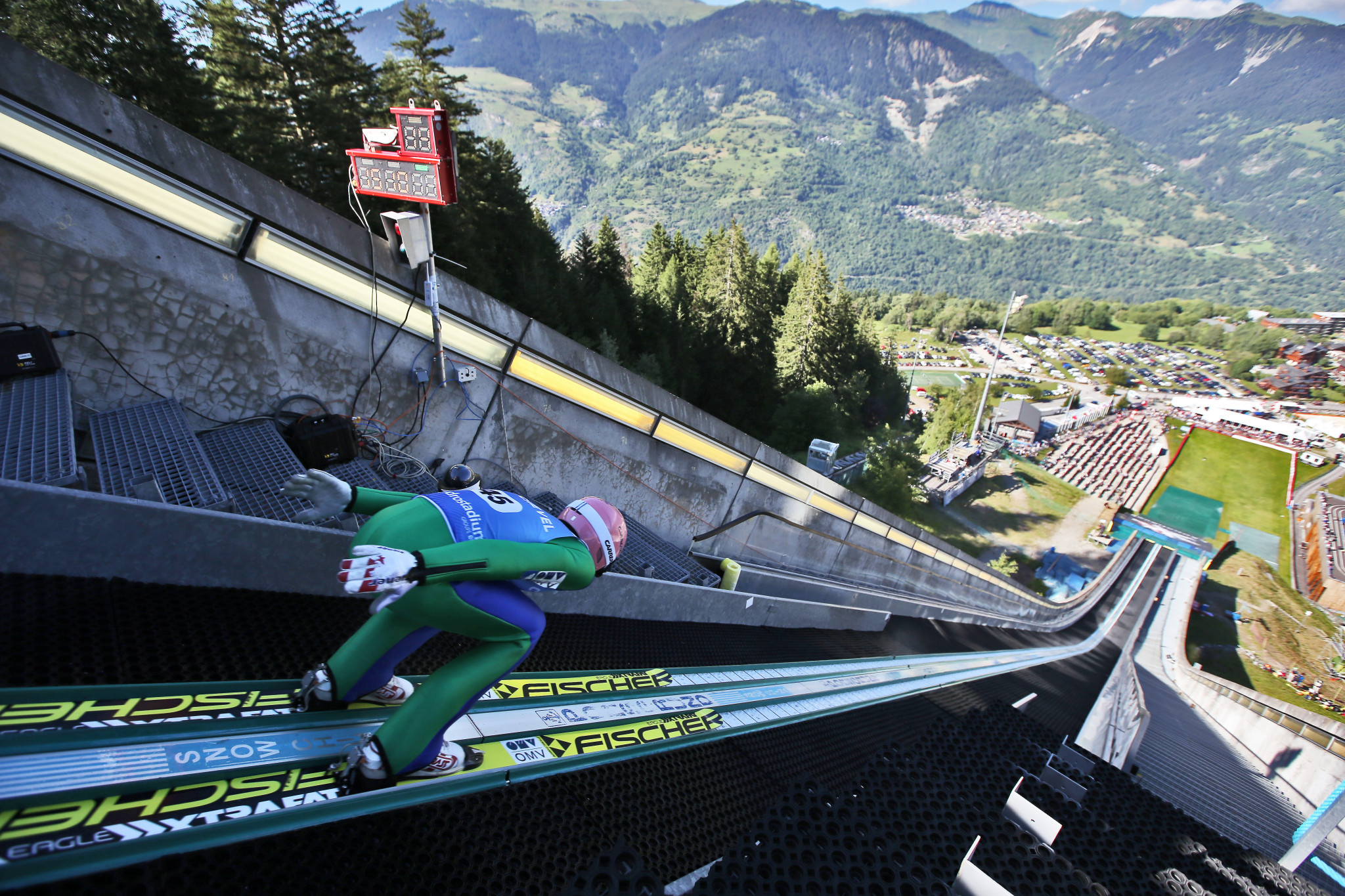 Summer ski jumping events will have a different feel due to the COVID-19 pandemic ©Getty Images