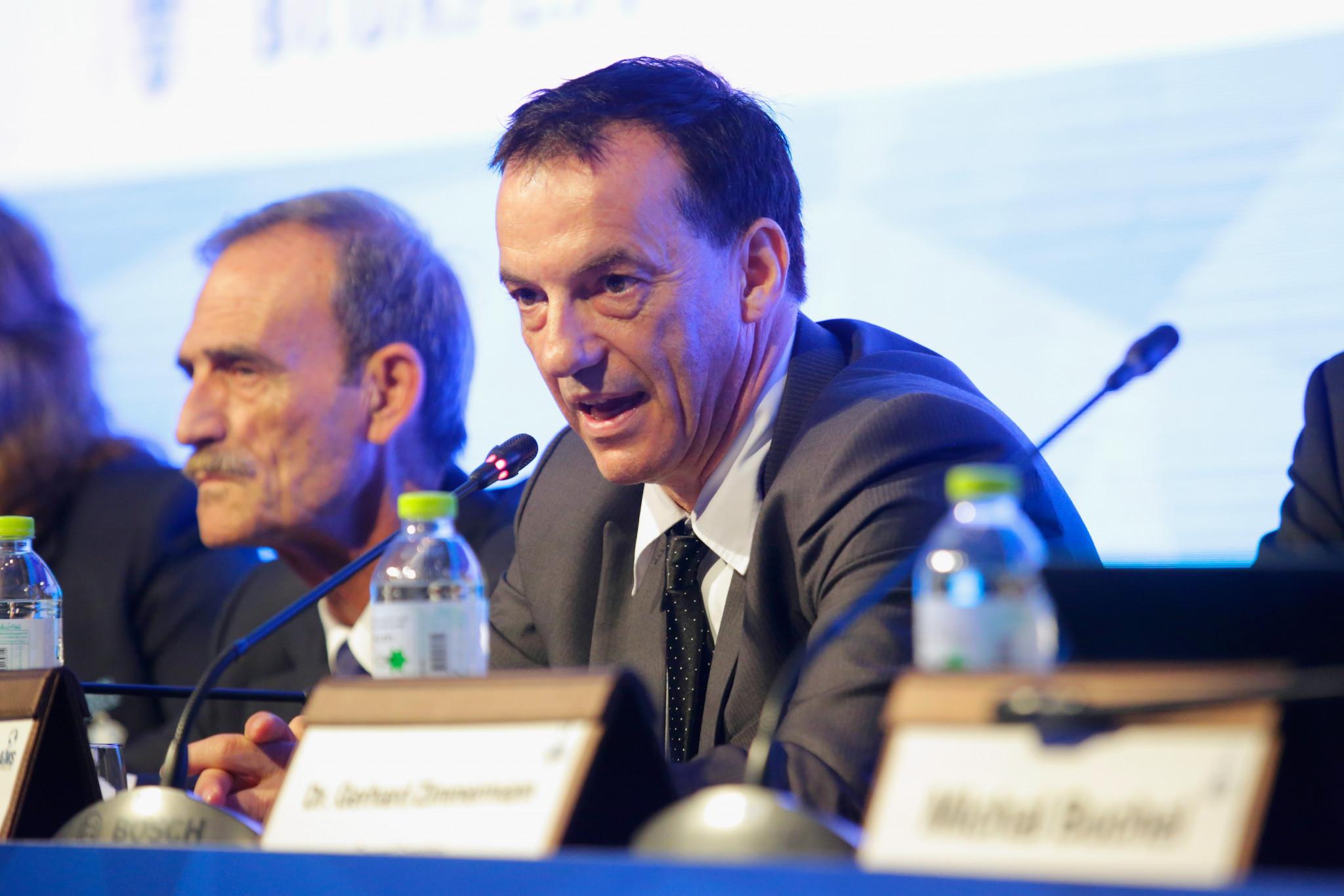 AIMS President Fox praises progress of teqball