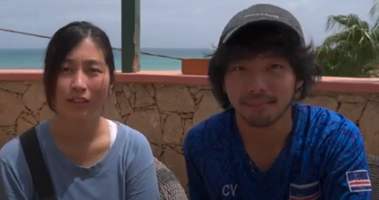 Japanese couple stranded in Cape Verde invited to become Olympic ambassadors