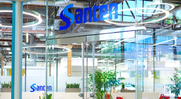 Santen is a Japanese pharmaceutical company specialising in ophthalmology ©Santen