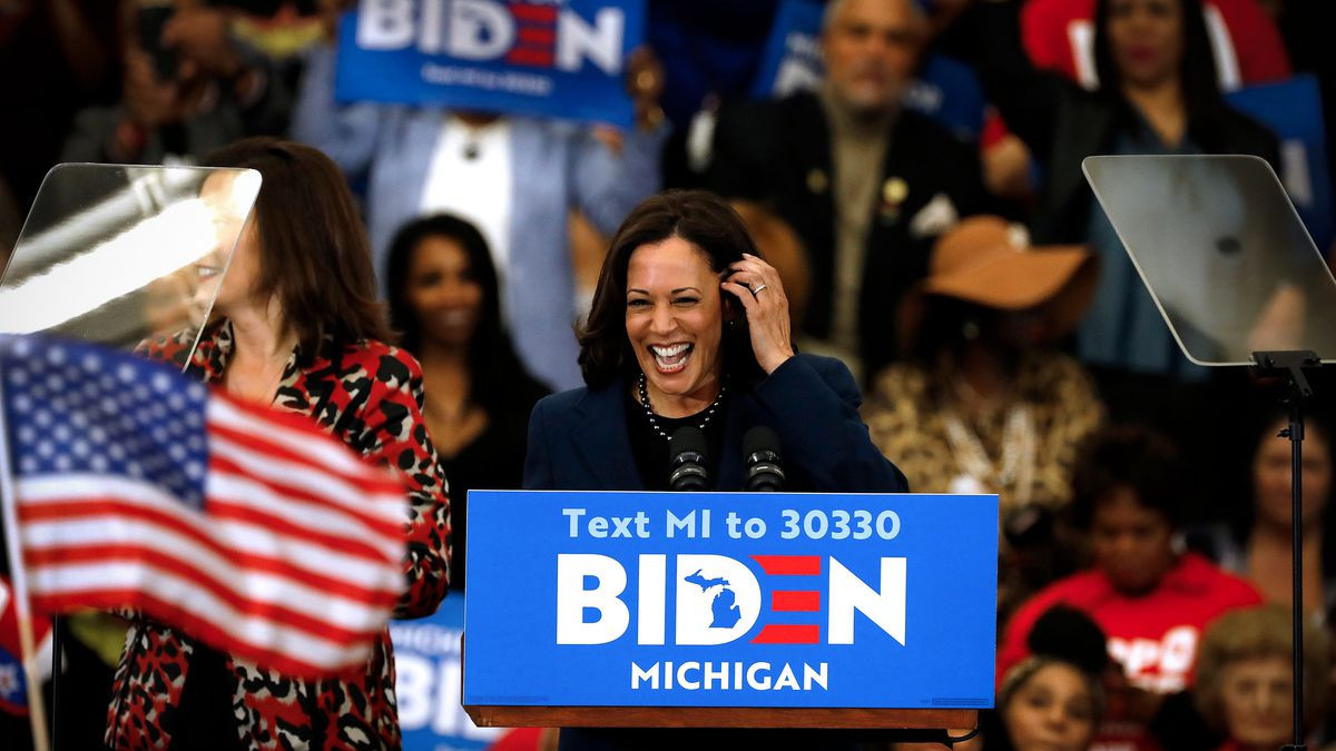 Kamala Harris, chosen the running mate of  United States Presidential candidate Joe Biden, is among the Senators backing the proposed new law to reform the NCAA ©Getty Images