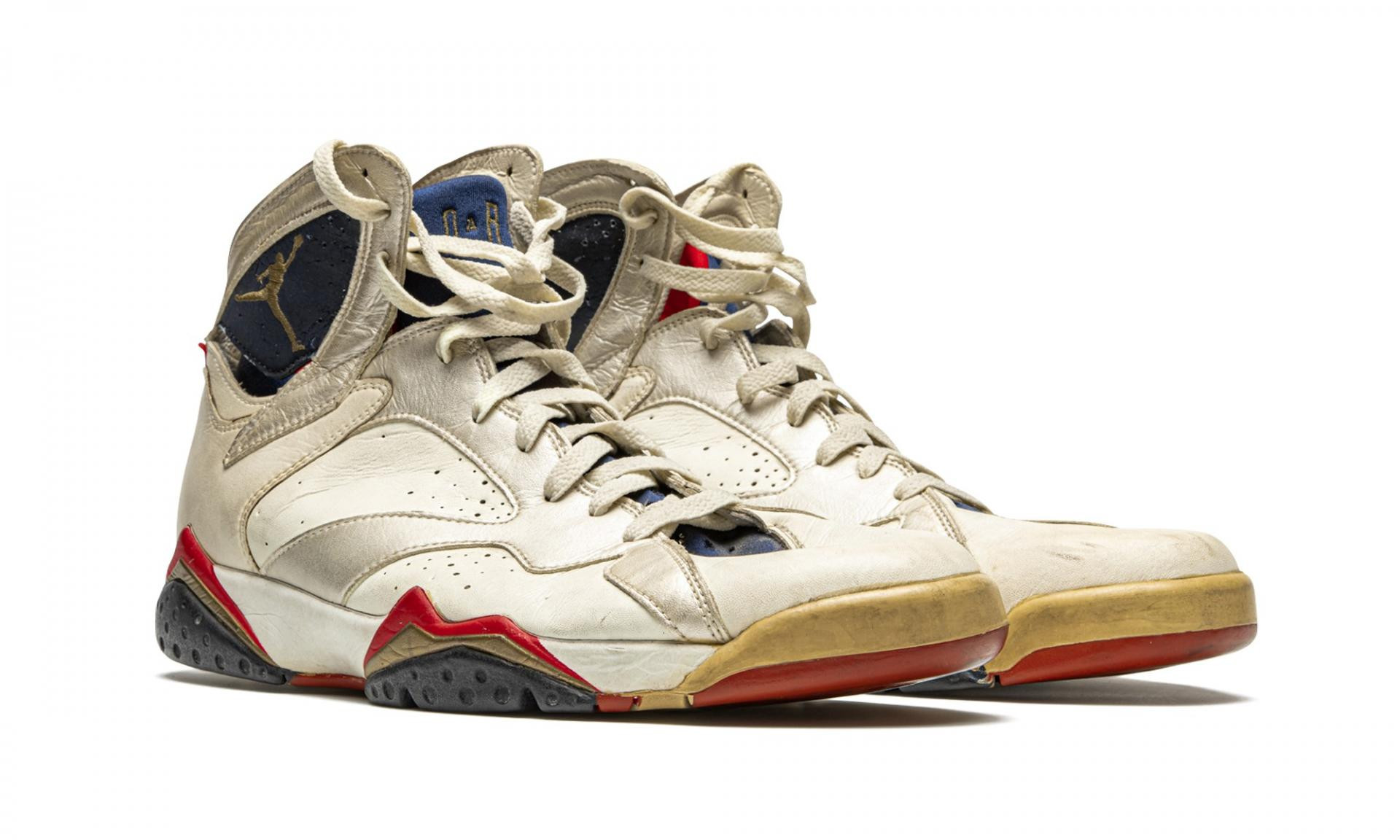 Michael Jordan trainers sell for record