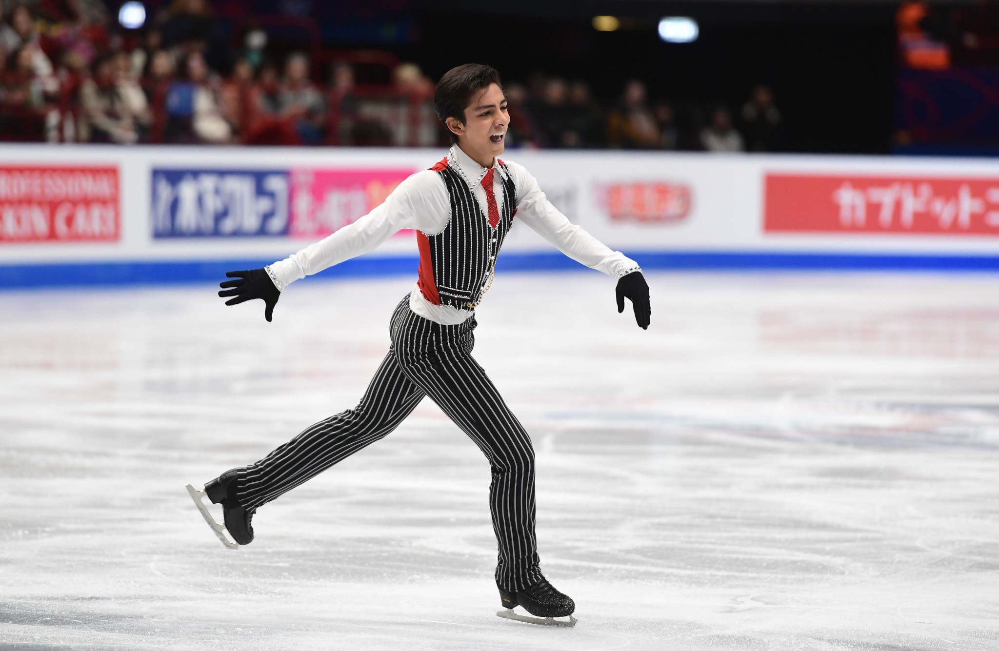 Mexican figure skater Carrillo returns to ice with Beijing 2022 qualification in his sights