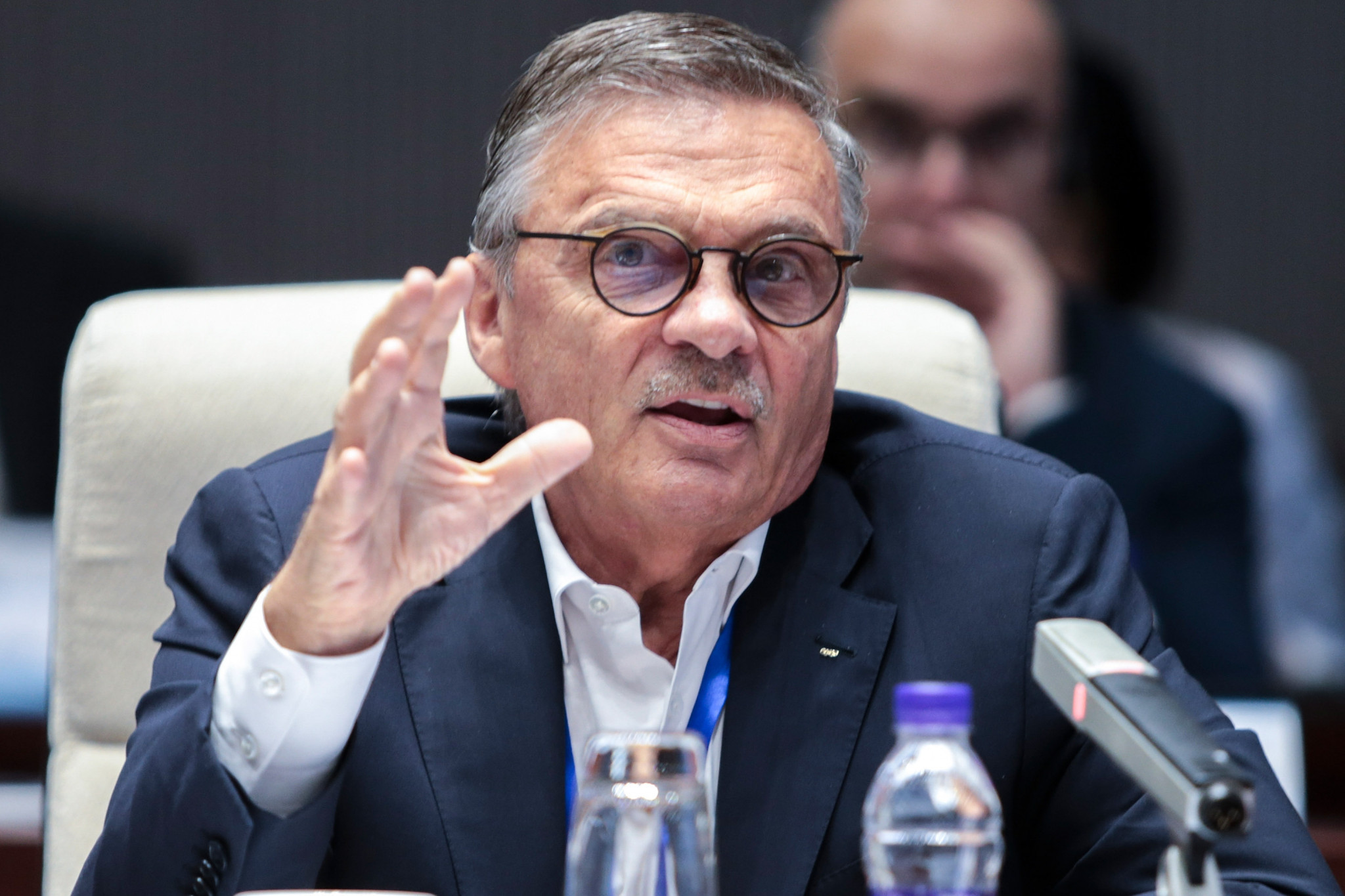 IIHF President Rene Fasel has said plans for the World Championship remain unchanged ©Getty Images