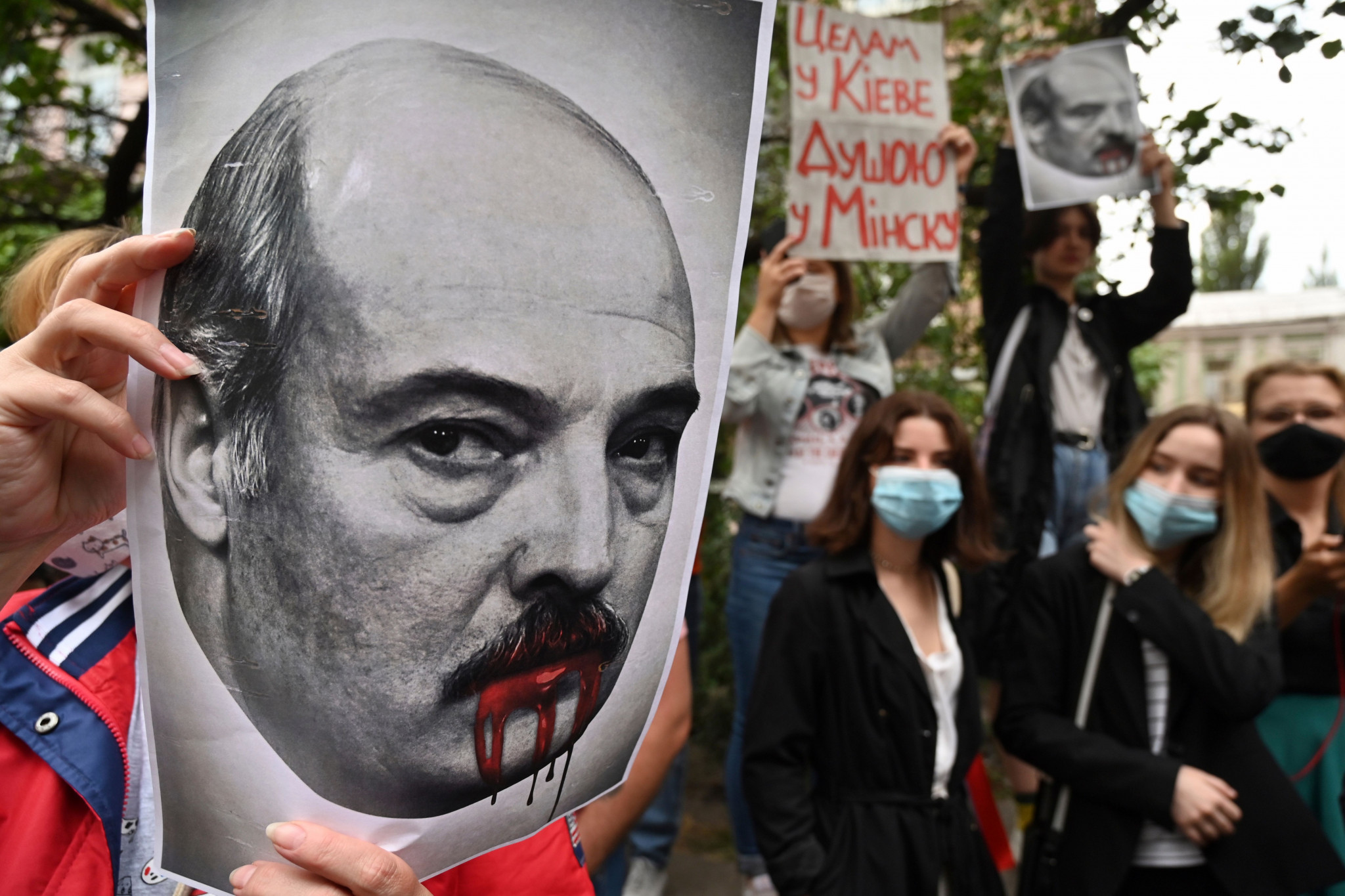 Protests have taken place in Belarus against President Alexander Lukashenko ©Getty Images