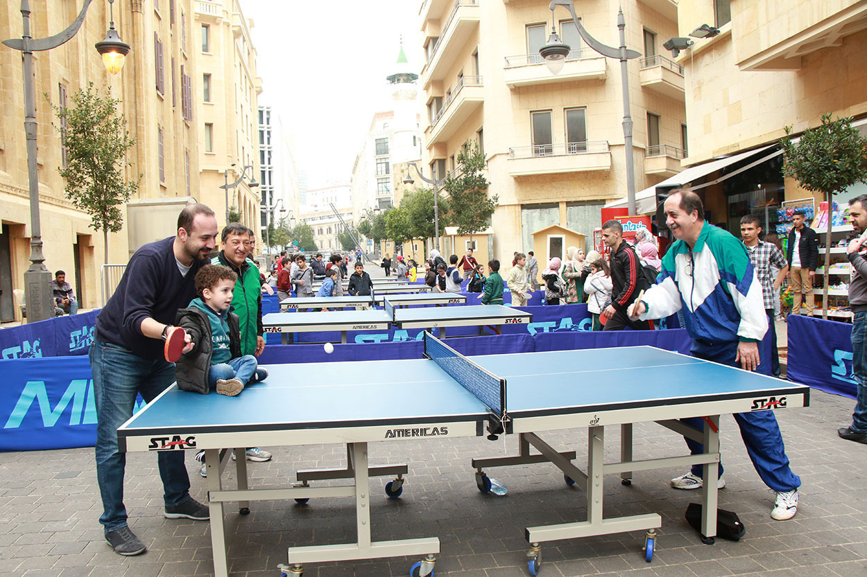 ITTF donates funds to Lebanese Table Tennis Federation after Beirut explosion