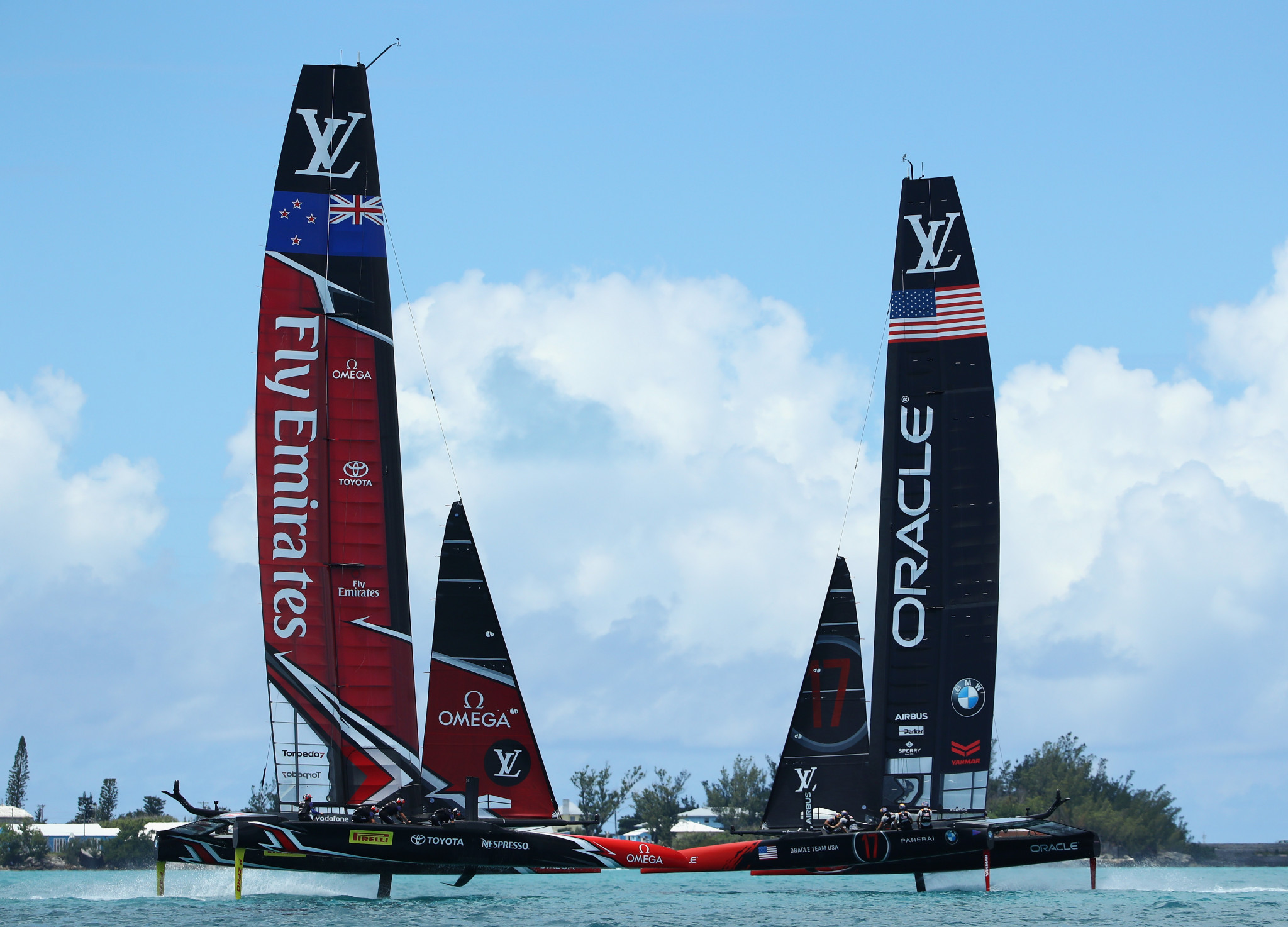 The 2021 America's Cup is to go ahead as planned next March, despite the coronavirus crisis, according to organisers ©Getty Images