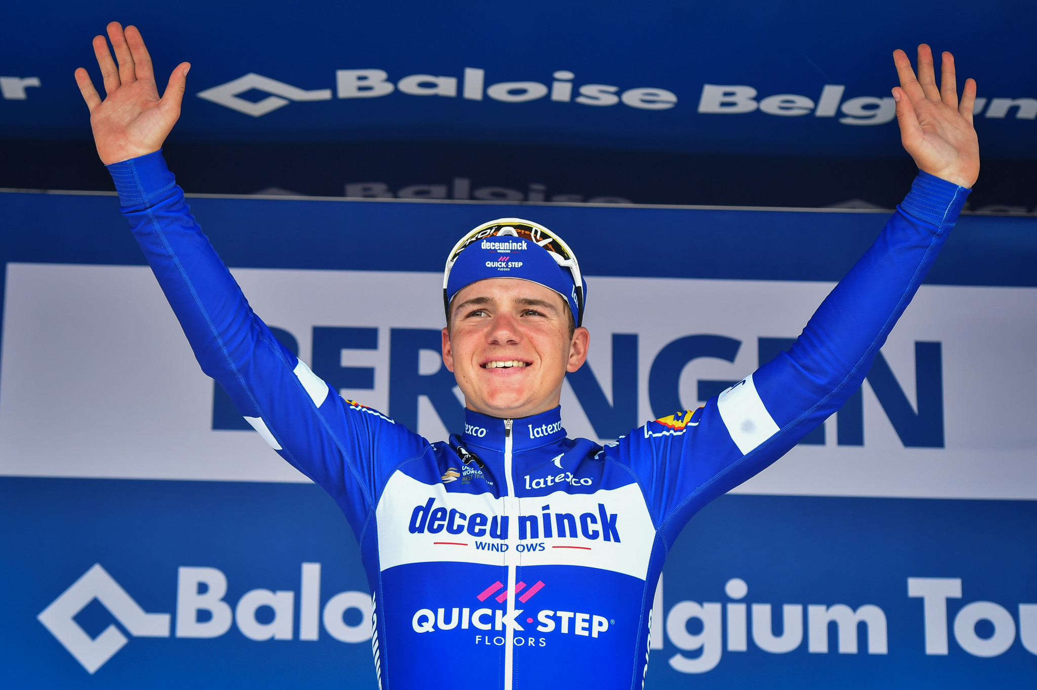 Il Lombardia race overshadowed by Evenepoel fall from bridge