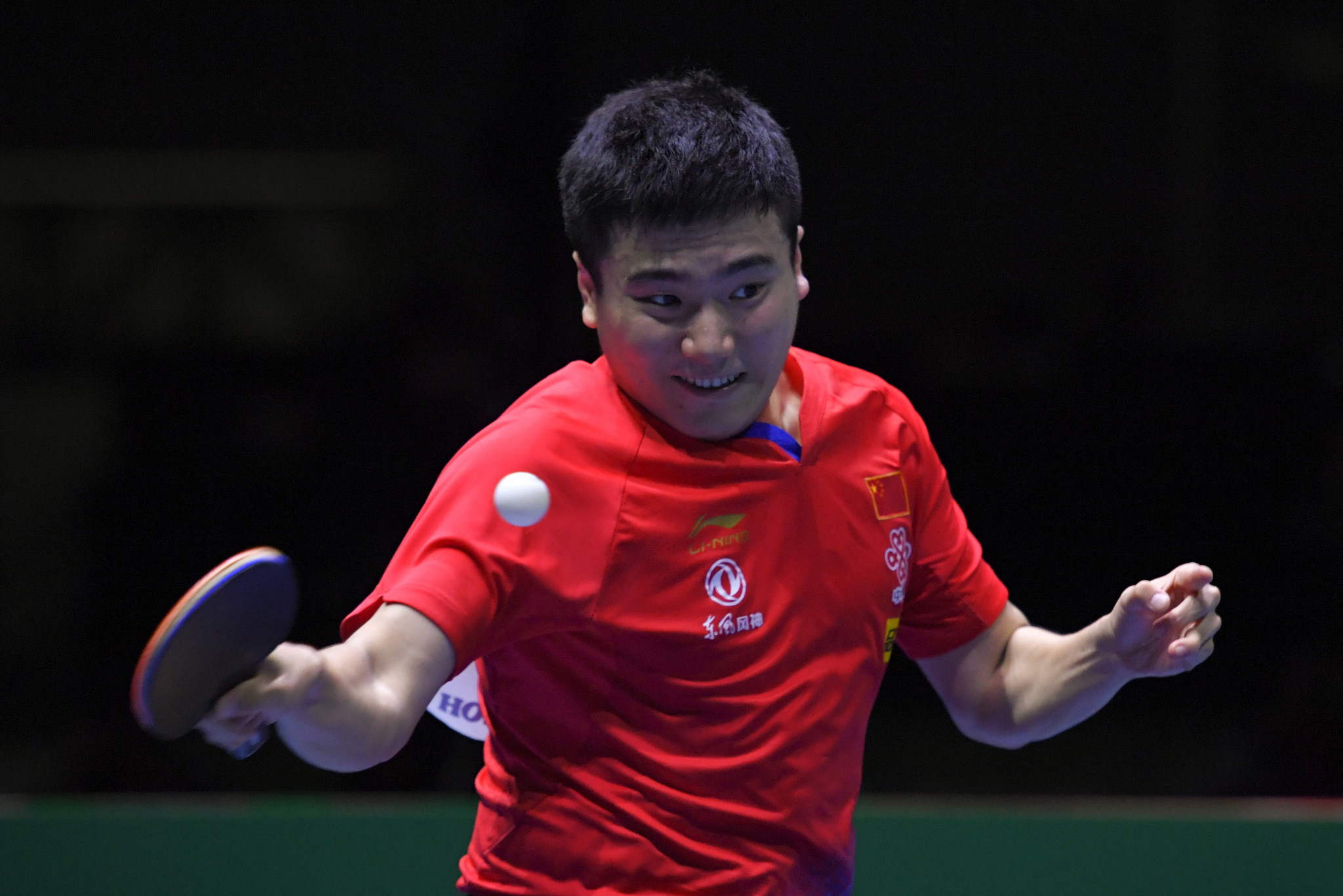 Liang and Sun win singles crowns at China's Tokyo 2020 table tennis event