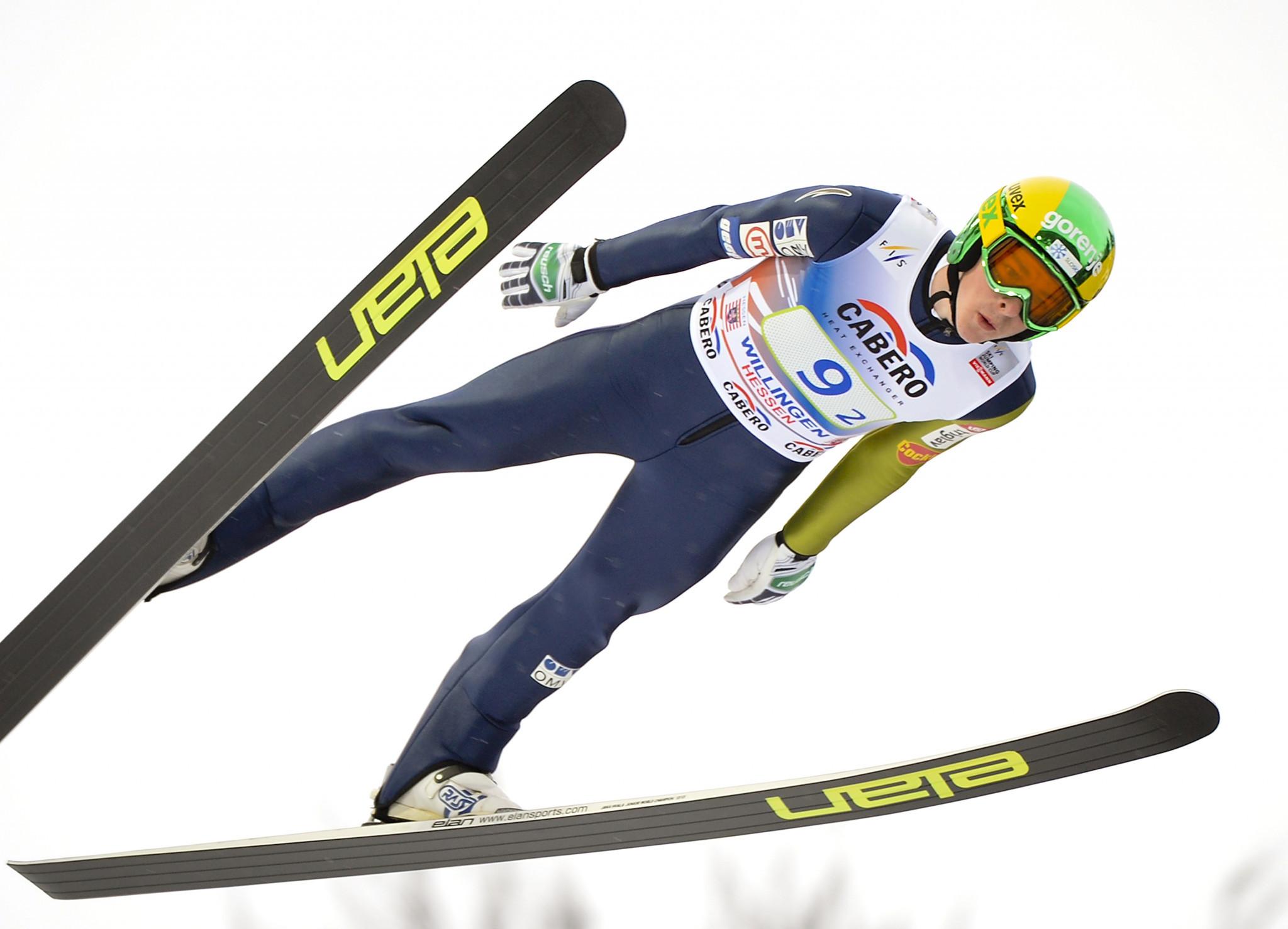 Jaka Hvala is a former world junior champion ©Getty Images
