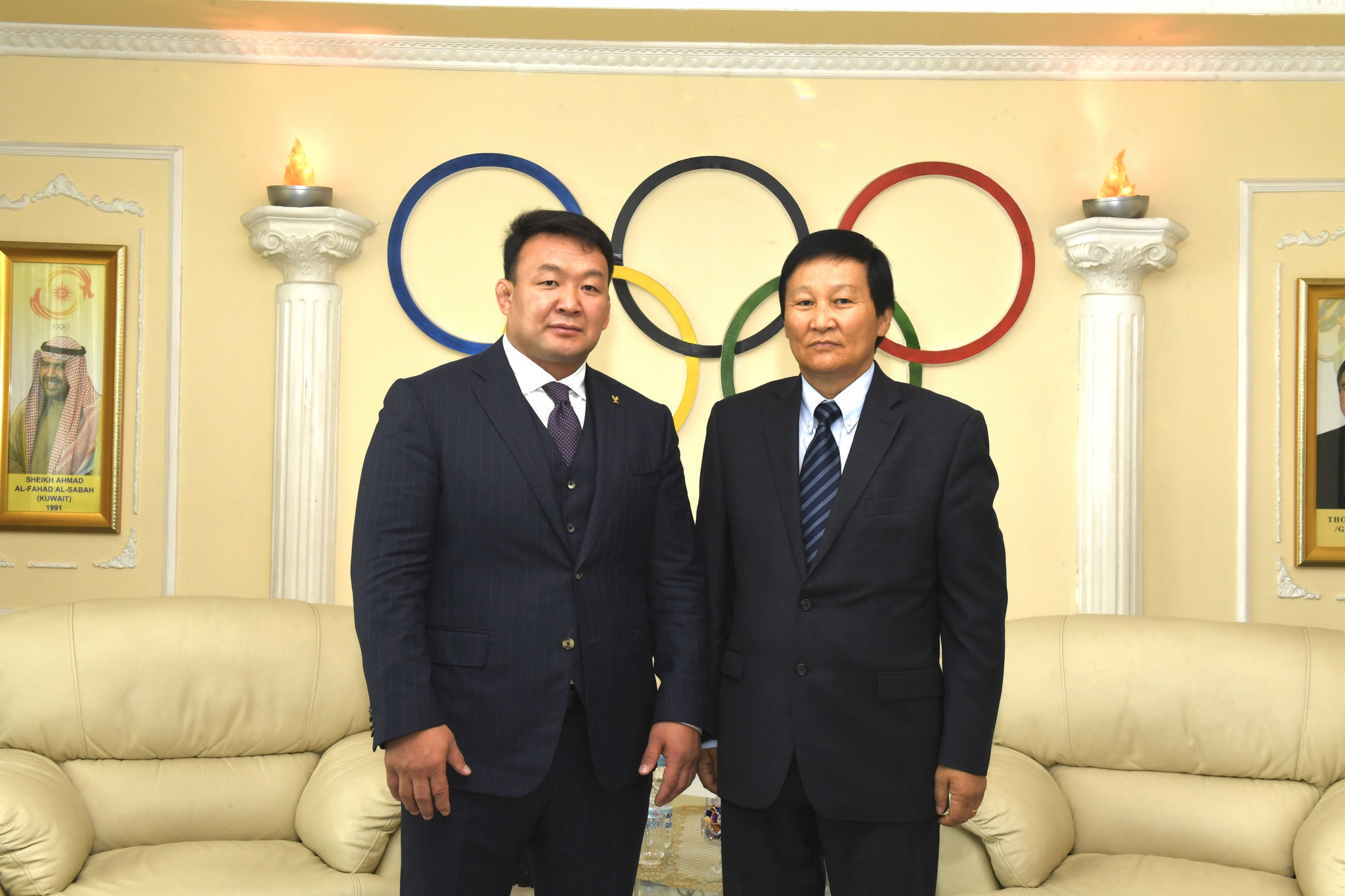 Mongolia's first Olympic champion elected President of MNOC