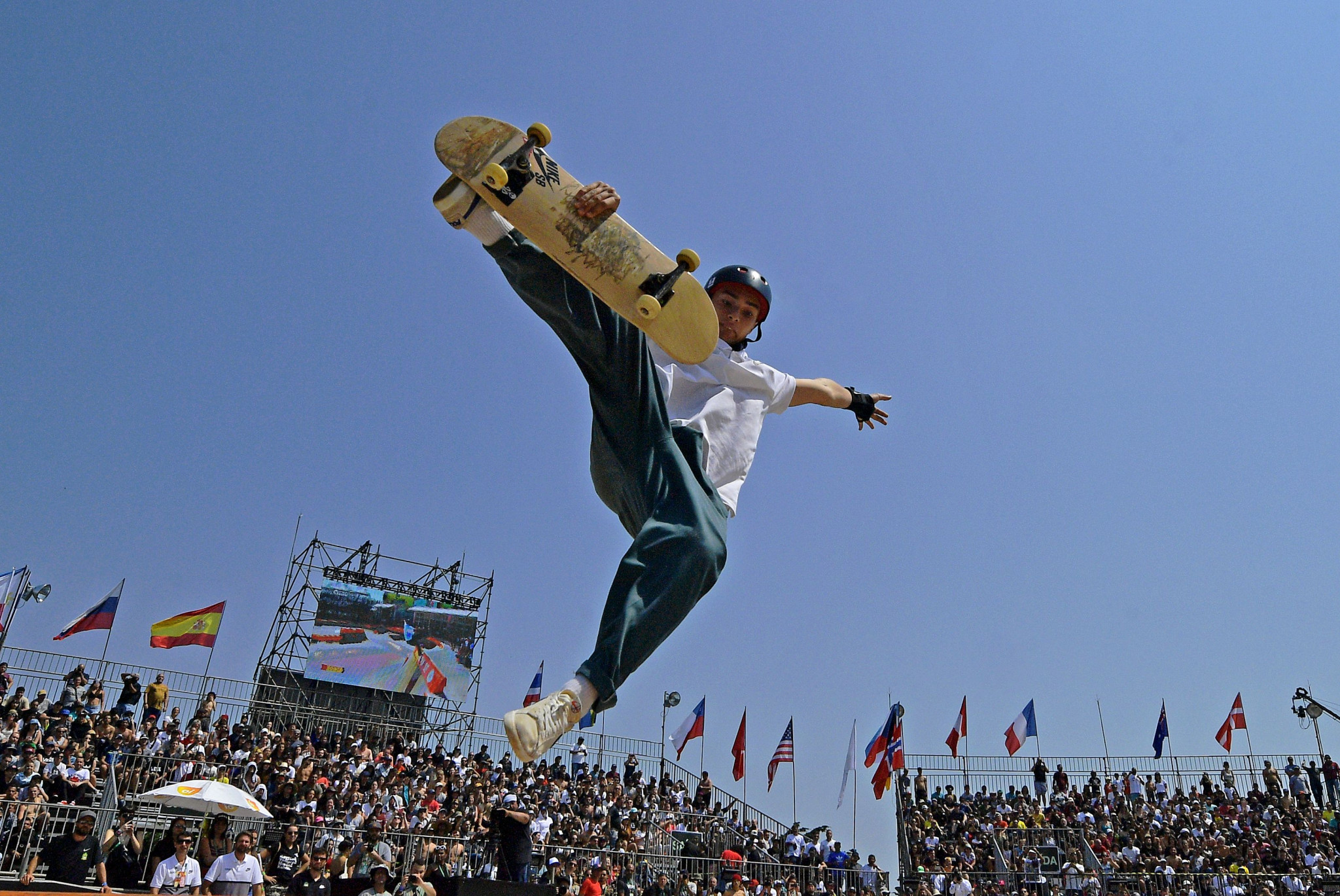 Skateboarding is due to make its Olympic debut at the postponed Tokyo 2020 Games ©Getty Images