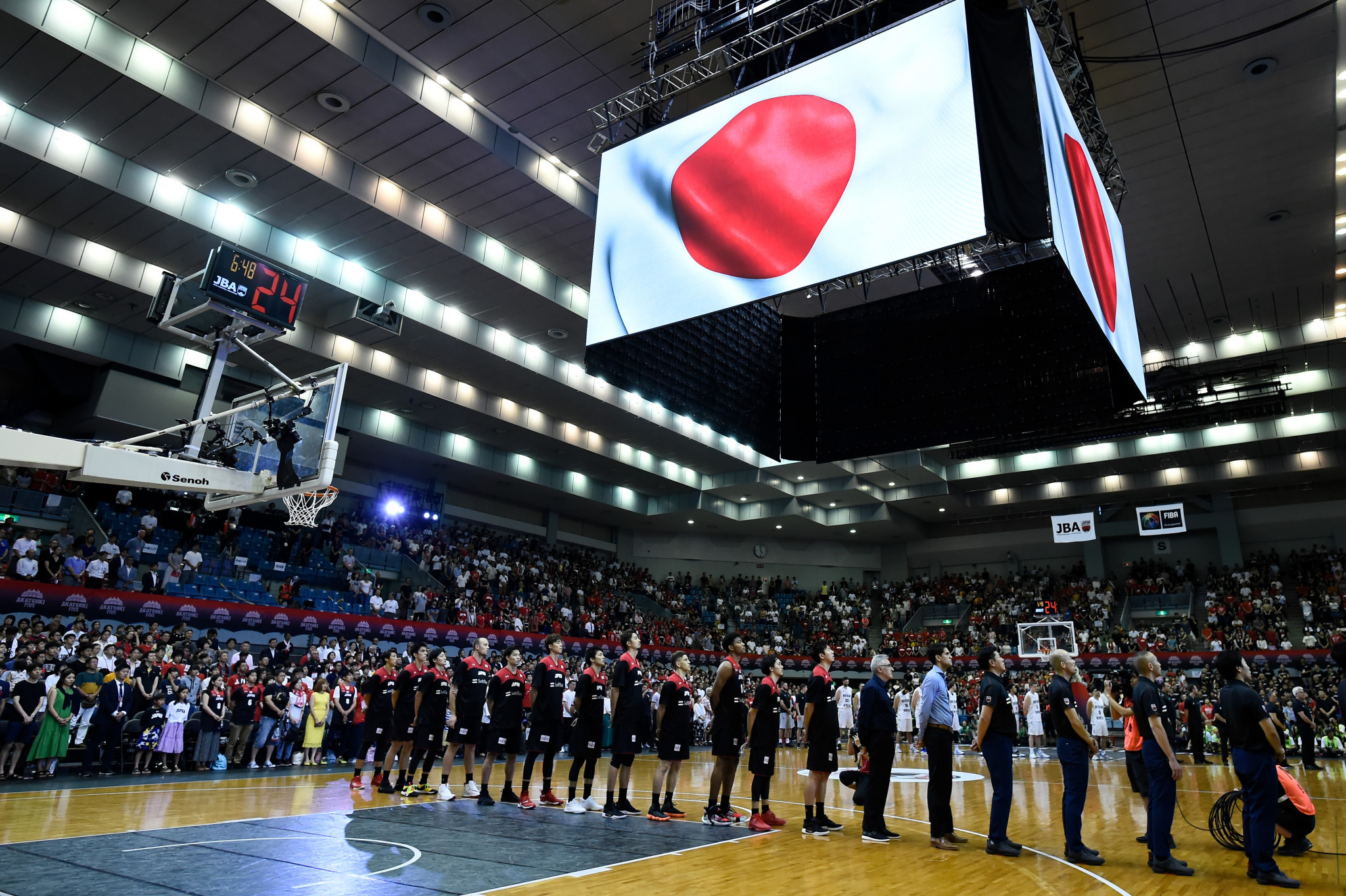 Japan plan eight exhibition matches to prepare for home Tokyo 2020 basketball tournament