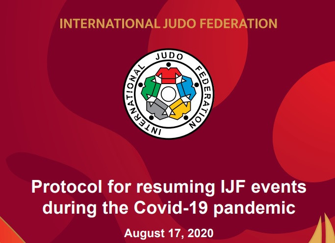 Pre-event testing among mandatory rules in IJF protocol for resumption of judo events