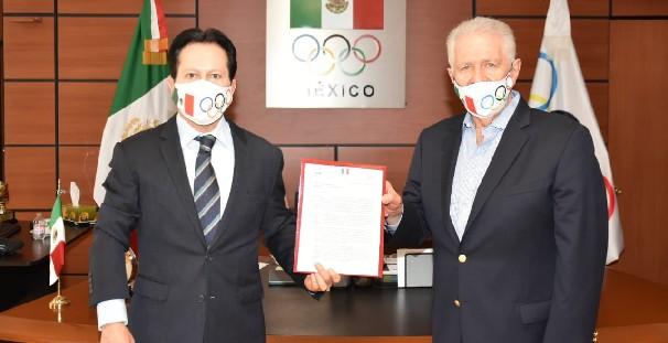 Mexican Olympic Committee presented with coronavirus proposals