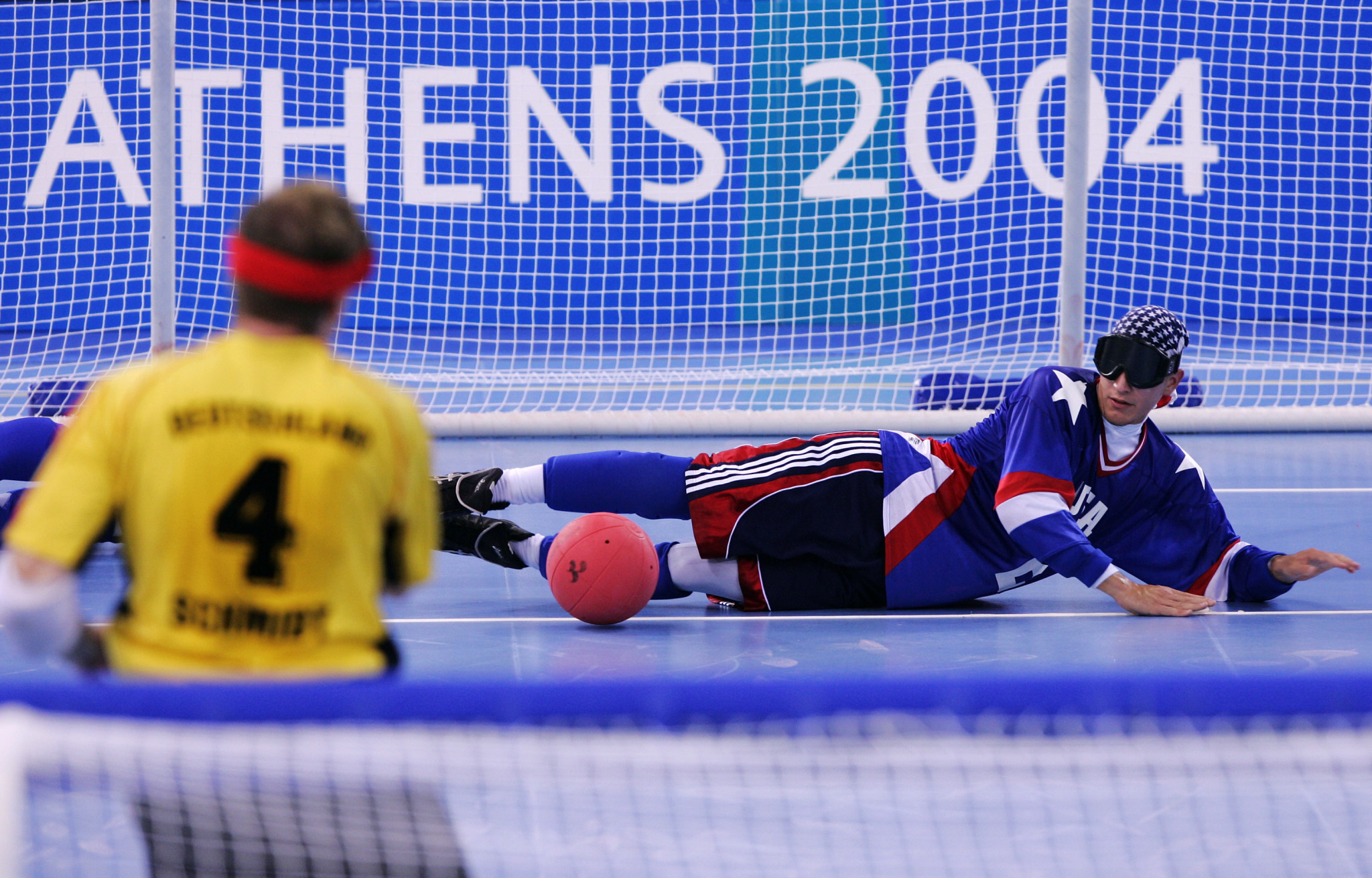 Tyler Merren has won two Paralympic medals in goalball ©Getty Images
