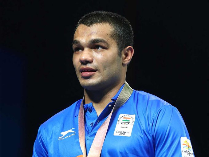 Tokyo 2020 boxer Vikas Krishan Yadav has asked for unity between India and Pakistan ©Getty Images