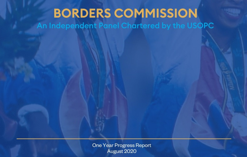 USOPC praised for reform progress by Borders Commission