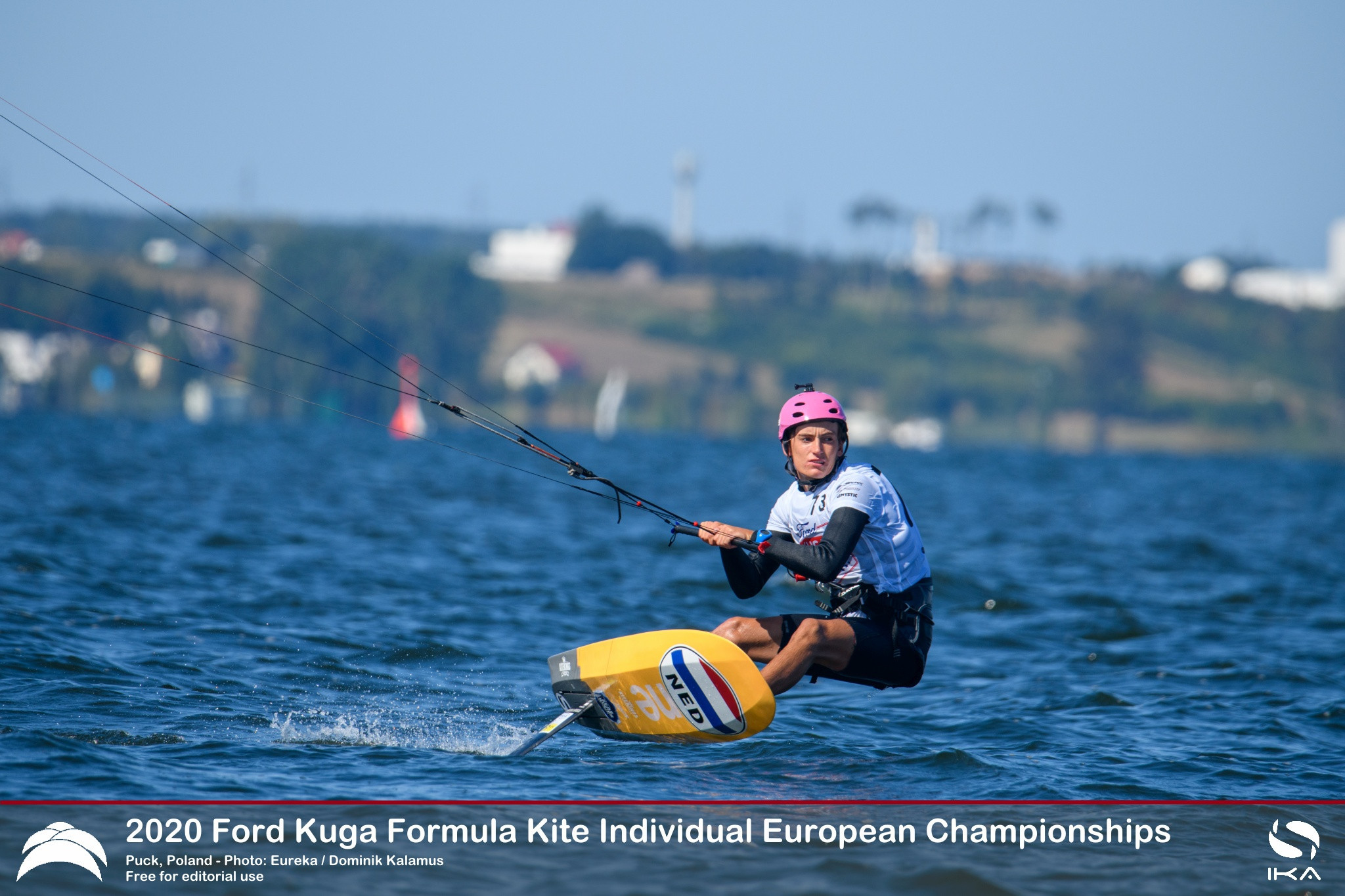 Damasiewicz and De Ramecourt lead after day one of 2020 Formula Kite Individual European Championships