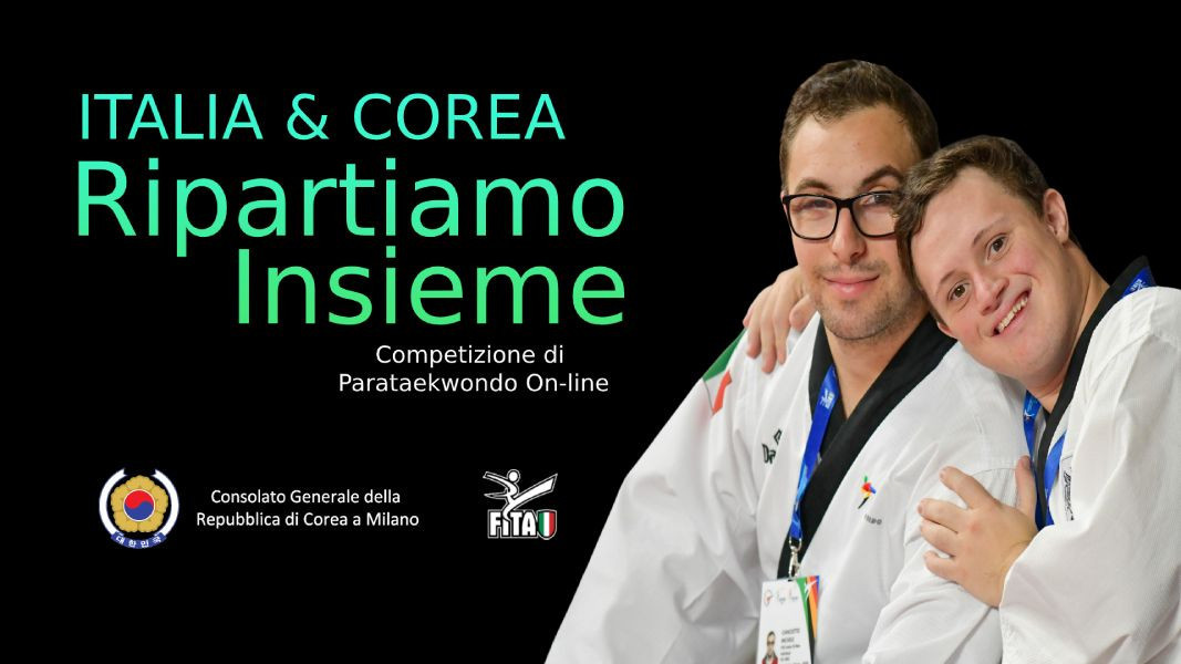 Italian Taekwondo Federation and South Korean Consulate General in Milan launch Para-taekwondo contest