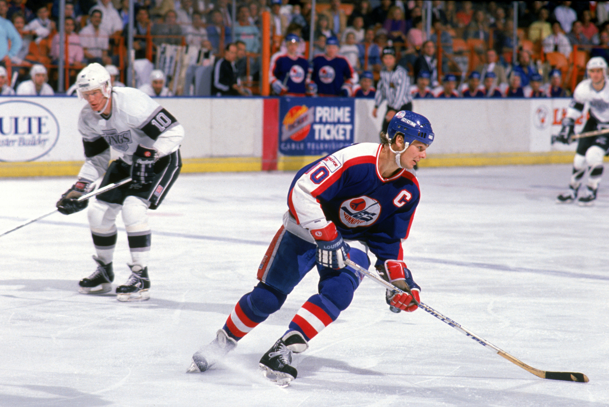 Dale Hawerchuk began his NHL career with Winnipeg Jets ©Getty Images