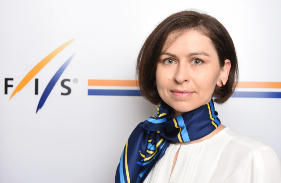 Sarah Hakkarainen Fussek has been promoted to FIS integrity manager ©FIS