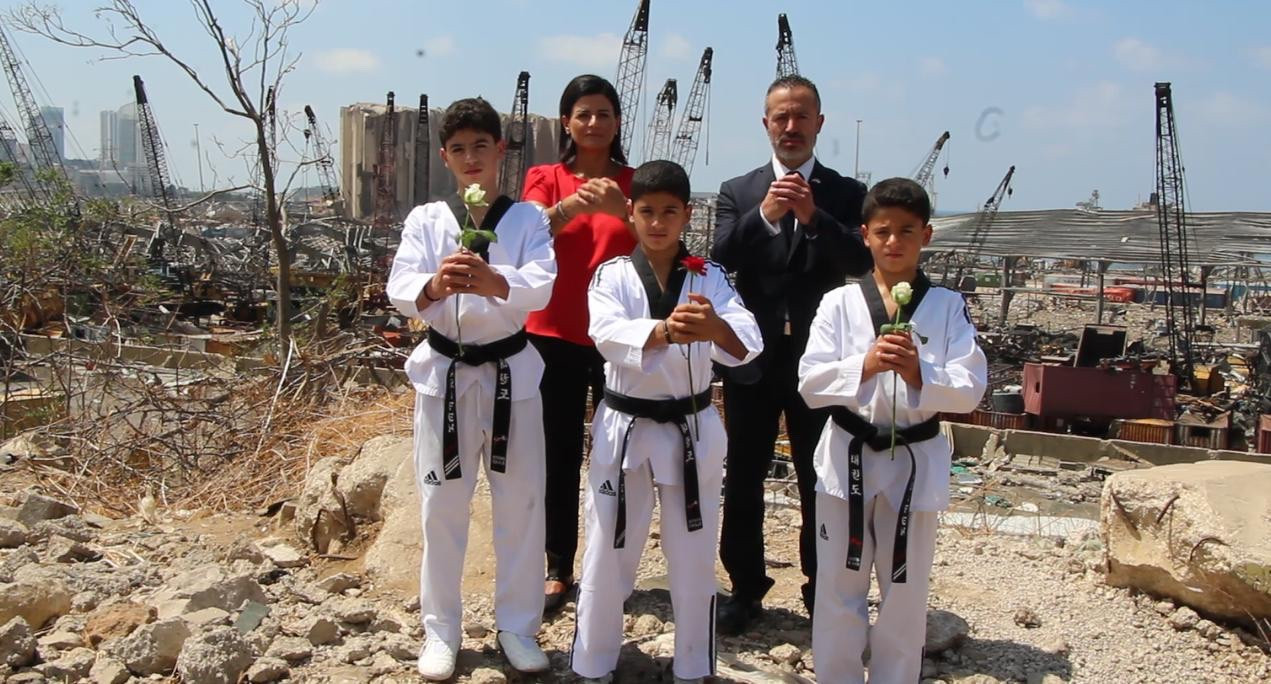 World Taekwondo and THF pledge support for Lebanon following explosion