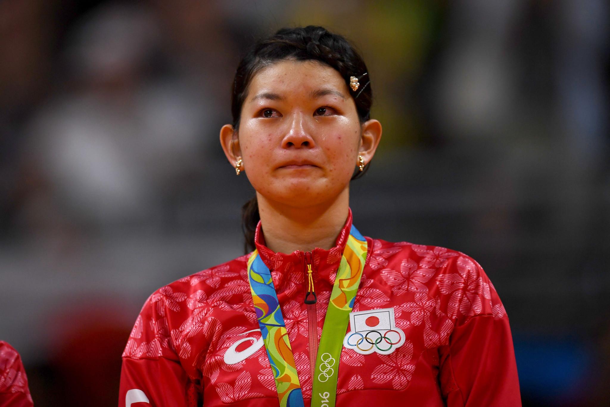 Ayaka Takahashi won gold with Misaki Matsutomo at the Rio 2016 Olympic Games ©Getty Images