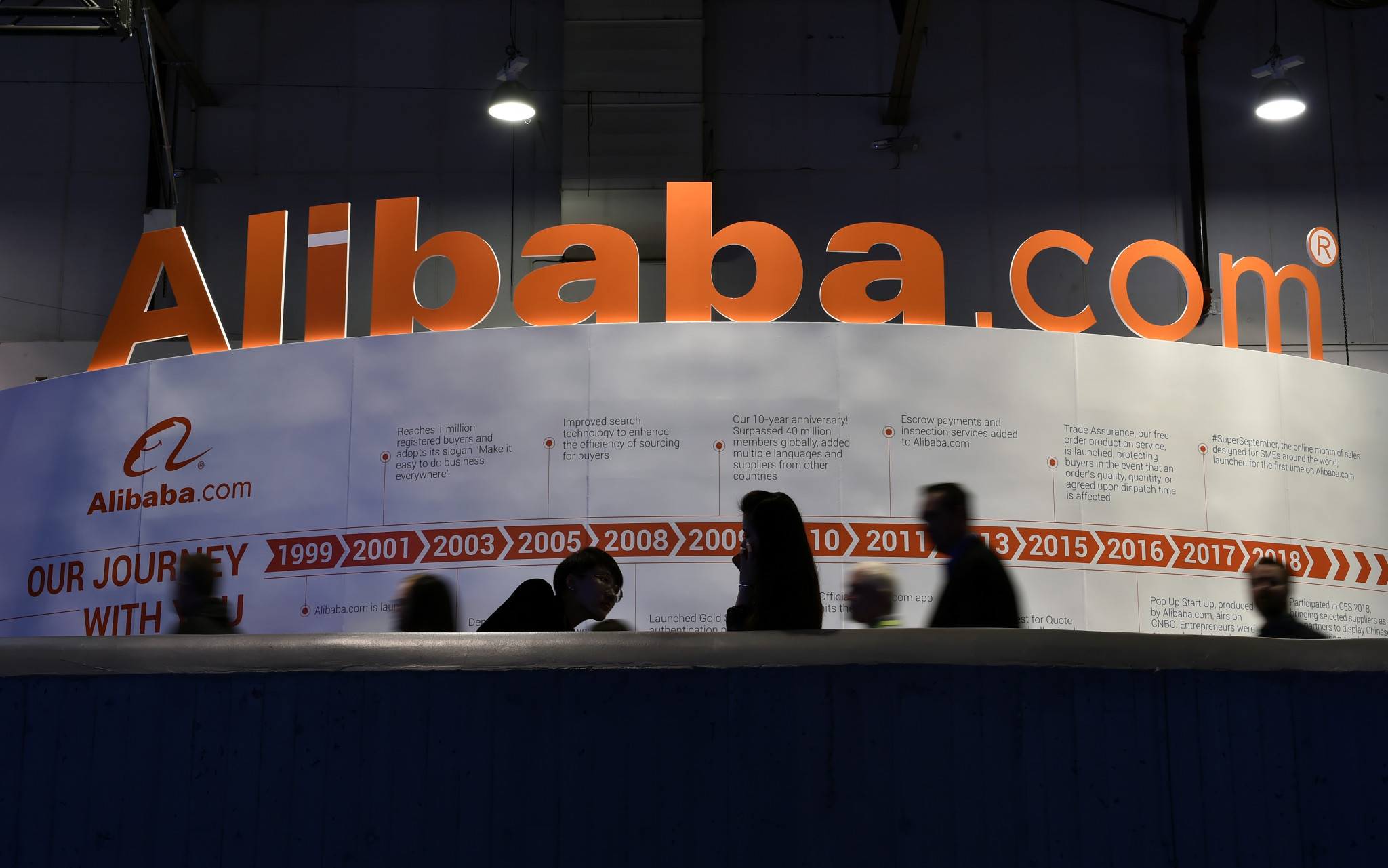 "TOP sponsor Alibaba's main business ""back at pre-COVID-19 levels"""