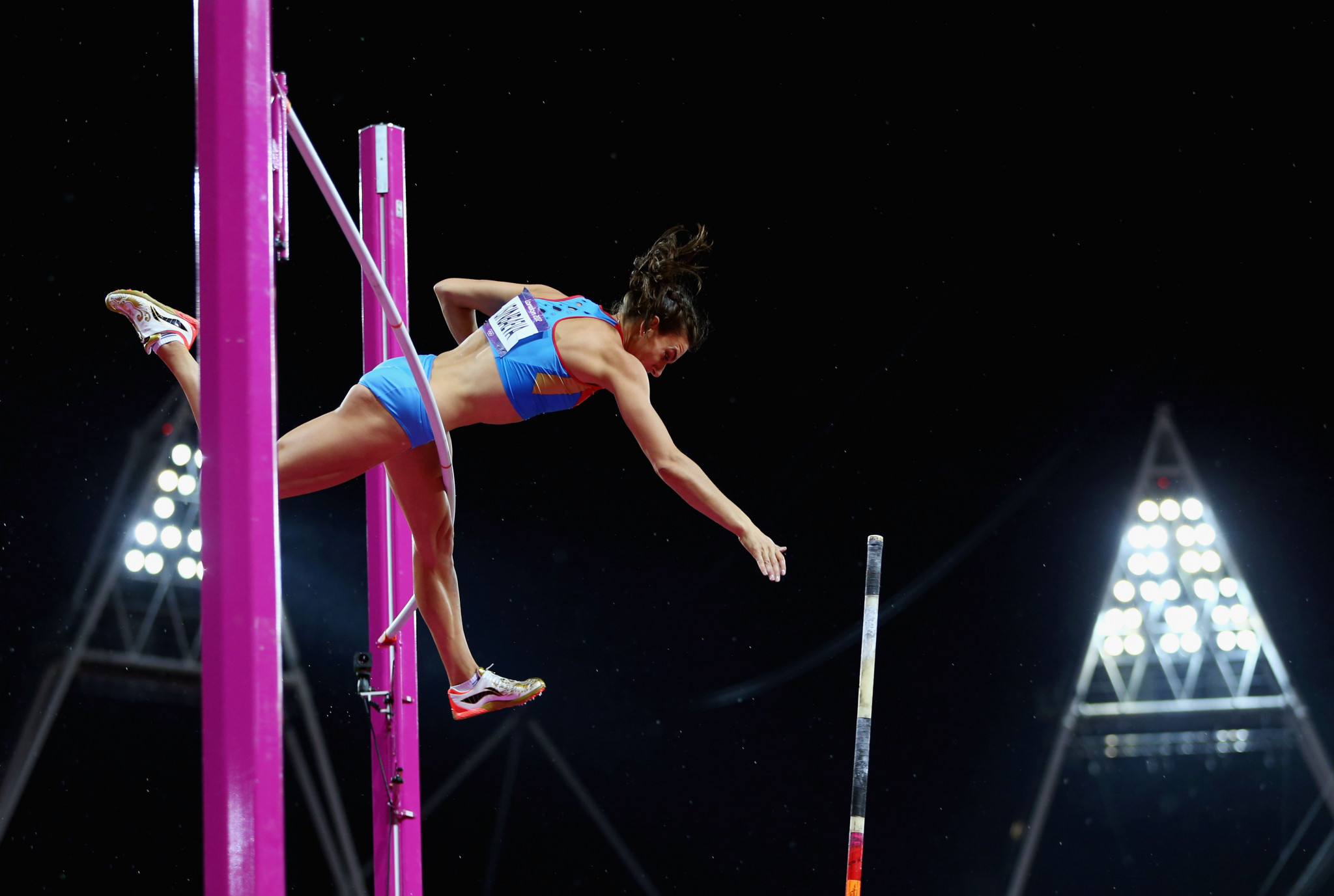 Two-time Olympic pole vault champion Yelena Isinbayeva is a member of the RusAF Reinstatement Commission ©Getty Images