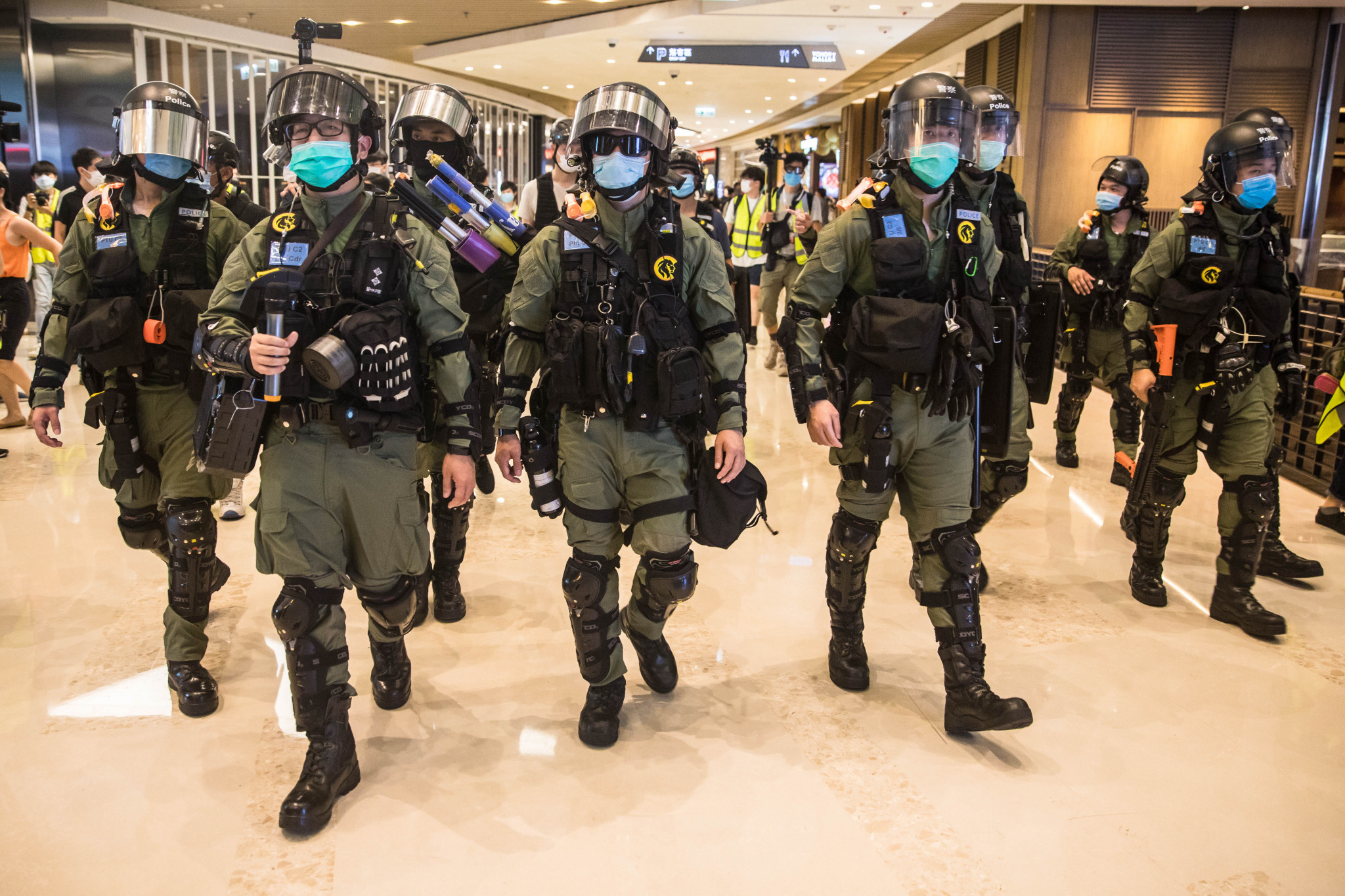 A national security law passed in Hong Kong has drawn criticism from Western nations ©Getty Images