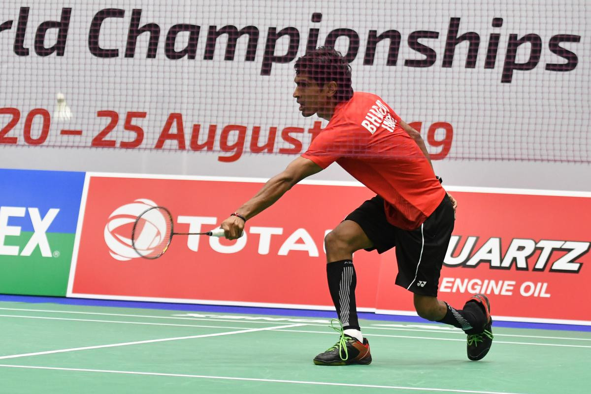 "Para-badminton world champion Bhagat ""fitter than ever"" after break from action"