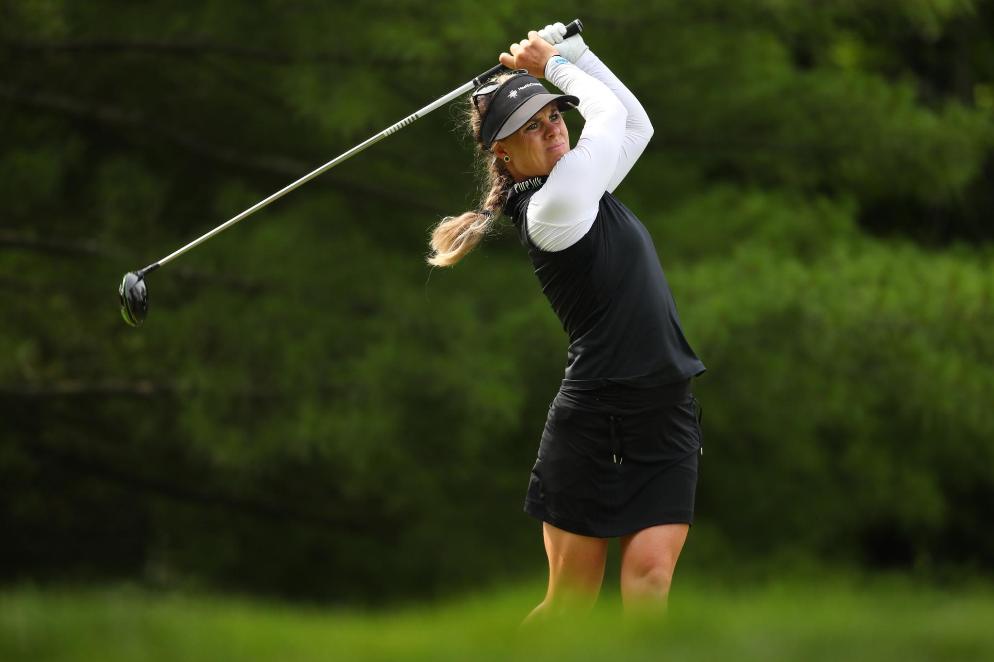 Holmqvist earns one shot lead at Women's British Open